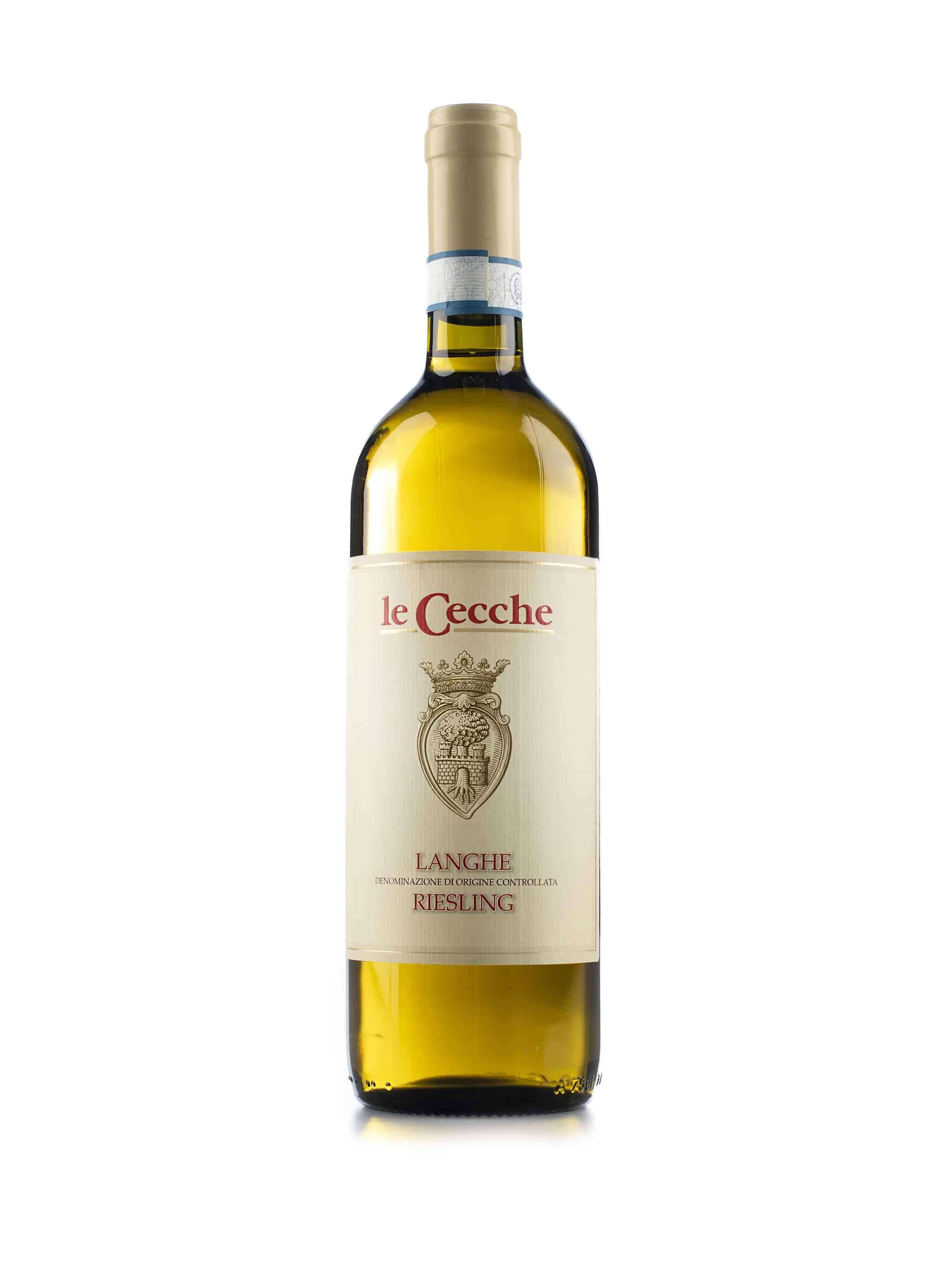 Italiaanse witte wijn van wijndomein Le Cecche: Langhe Riesling