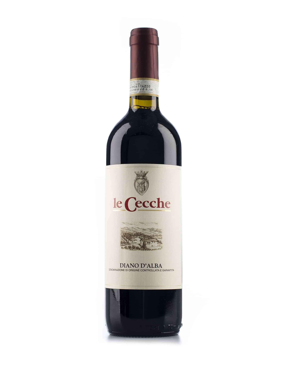 Italiaanse rode wijn van wijndomein Le Cecche: Diano d'Alba