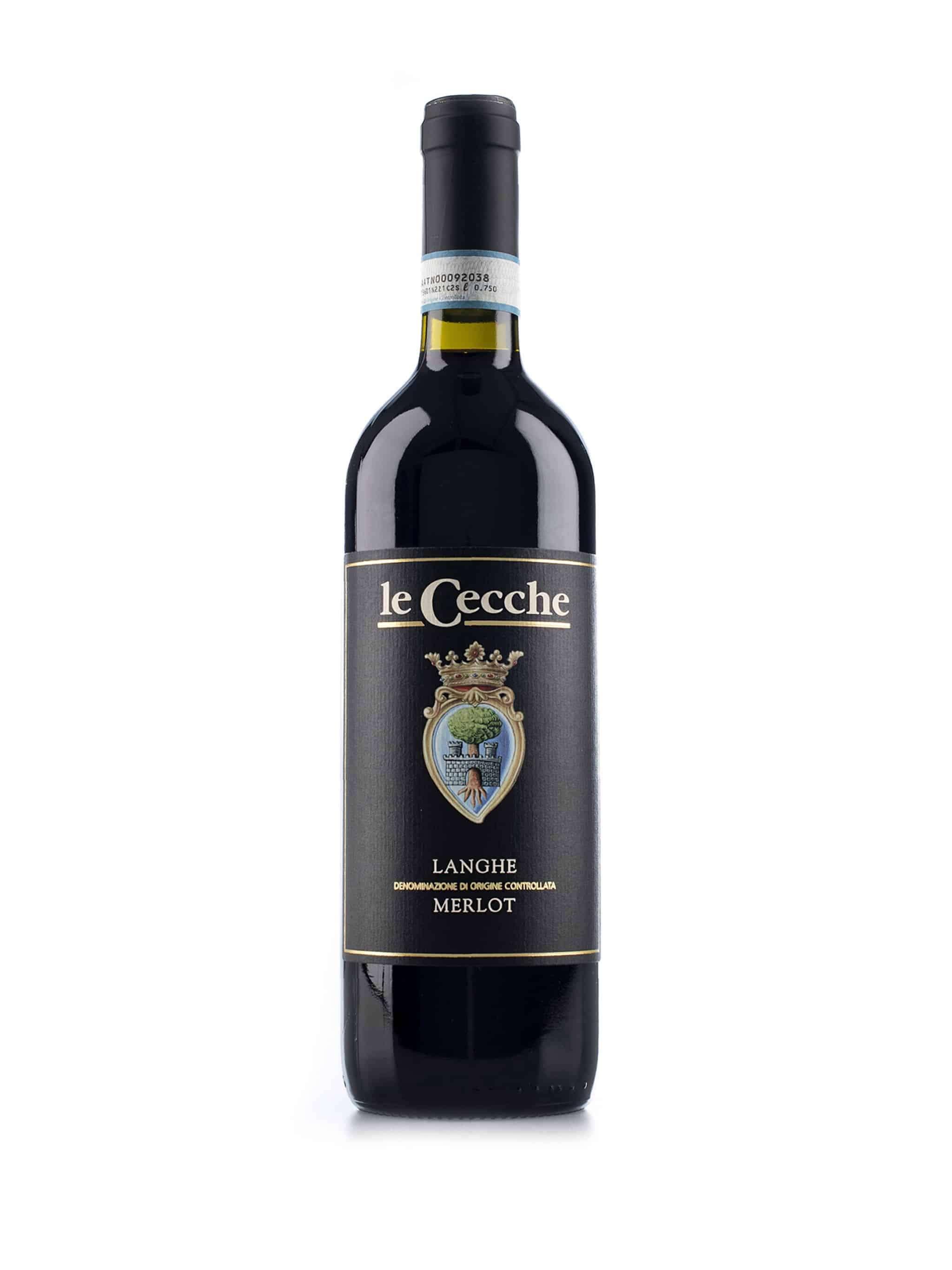 Italiaanse rode wijn van wijndomein Le Cecche: Langhe Merlot