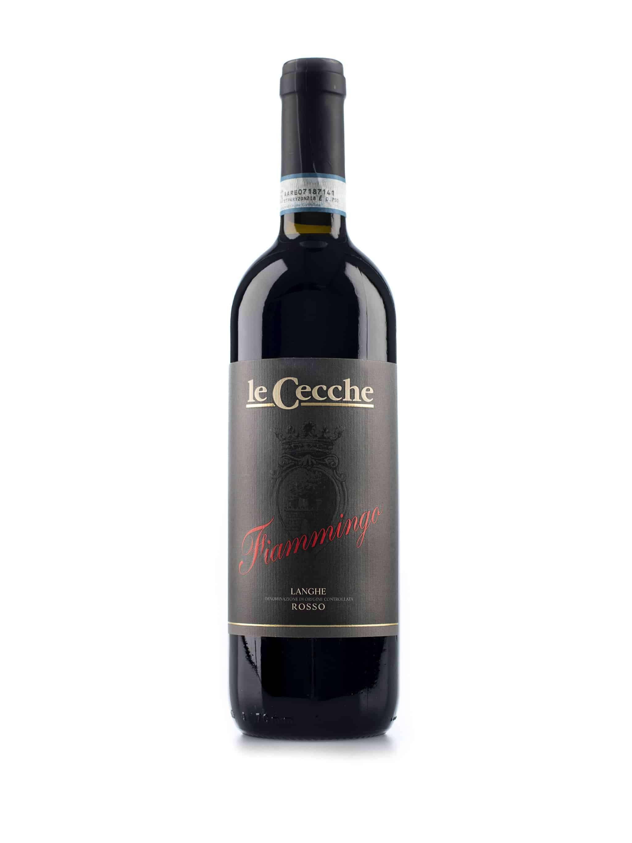 Italiaanse rode wijn van wijndomein Le Cecche: Fiammingo Langhe Rosso