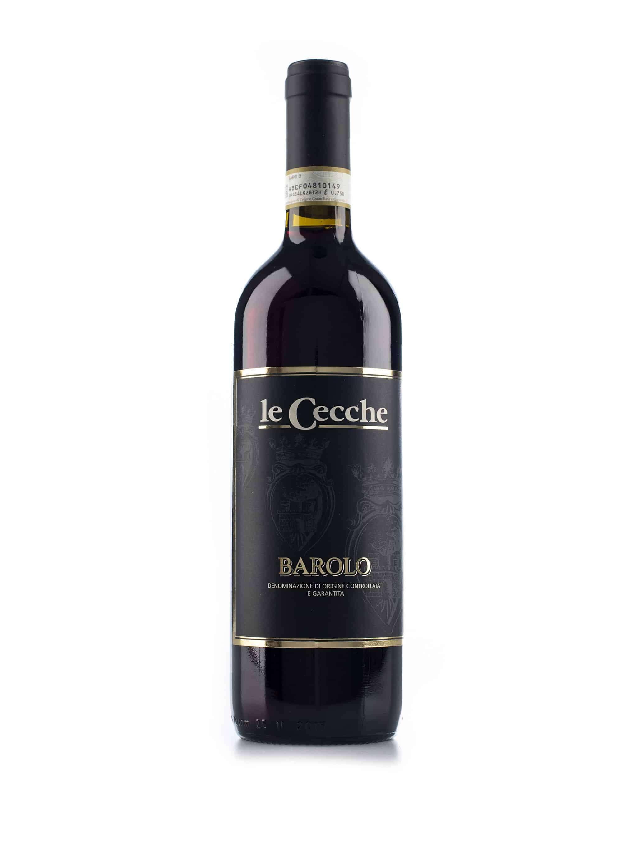 Italiaanse rode wijn van wijndomein Le Cecche: Barolo