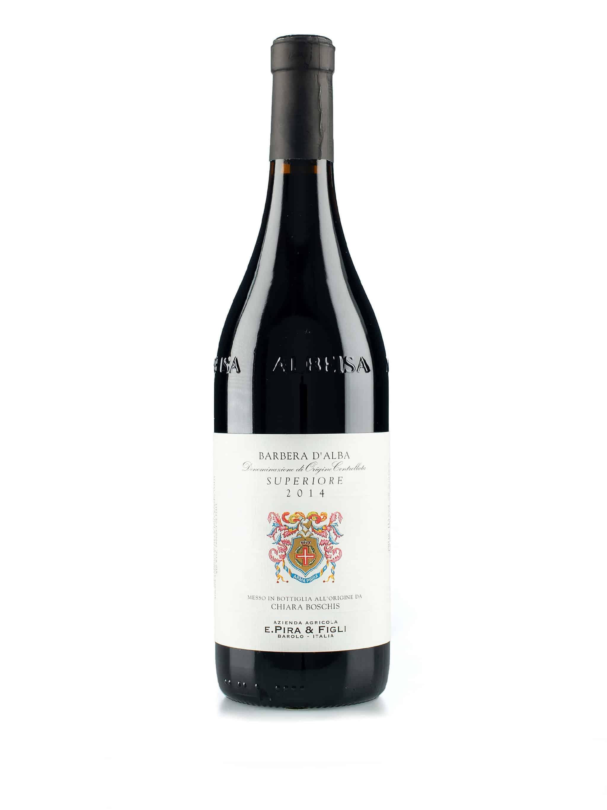 Italiaanse rode wijn van wijndomein Pira & Figli: Barbera d'Alba Superiore