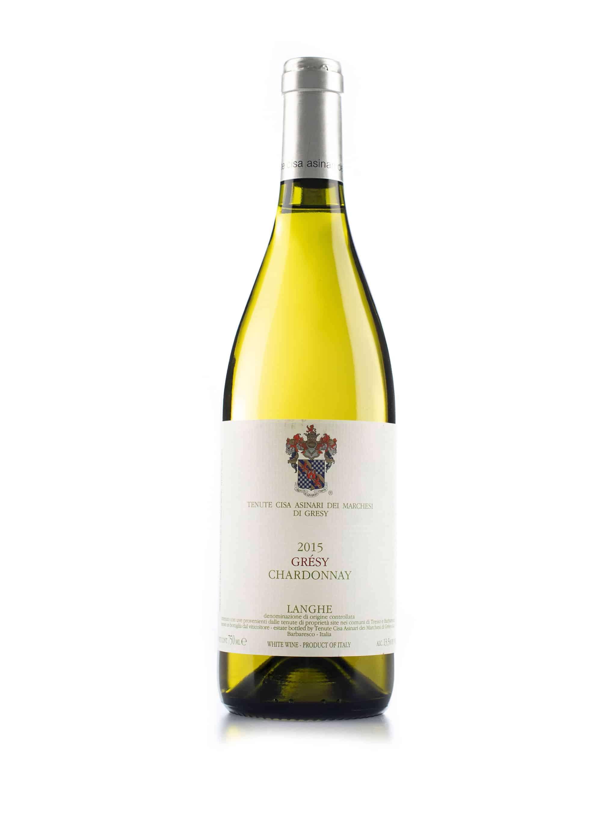 Italiaanse witte wijn van wijndomein Cisa Asinari dei Marchesi di Gresy: Chardonnay Gresy