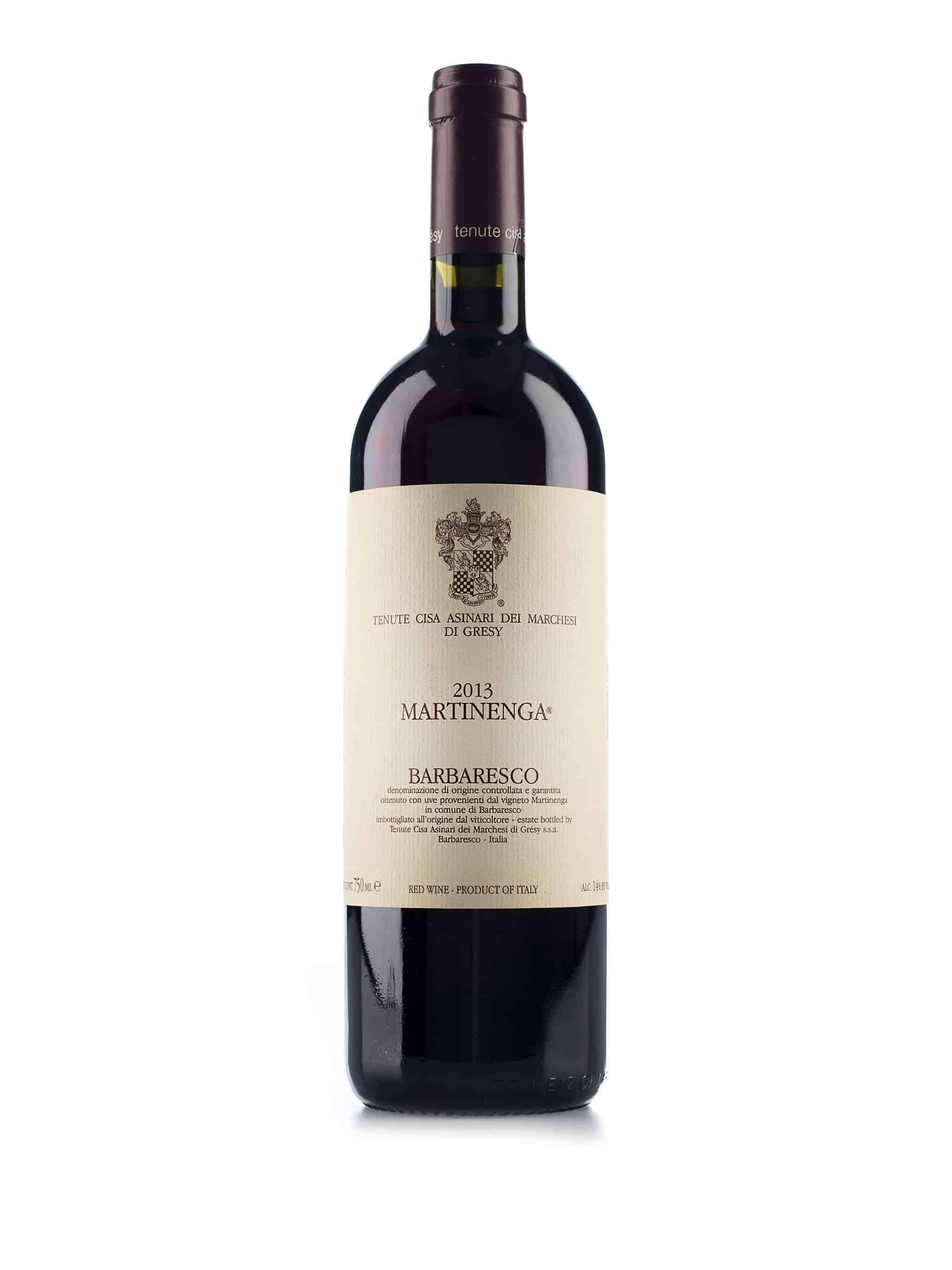 Italiaanse rode wijn van wijndomein Cisa Asinari dei Marchesi di Gresy: Barbaresco Martinenga
