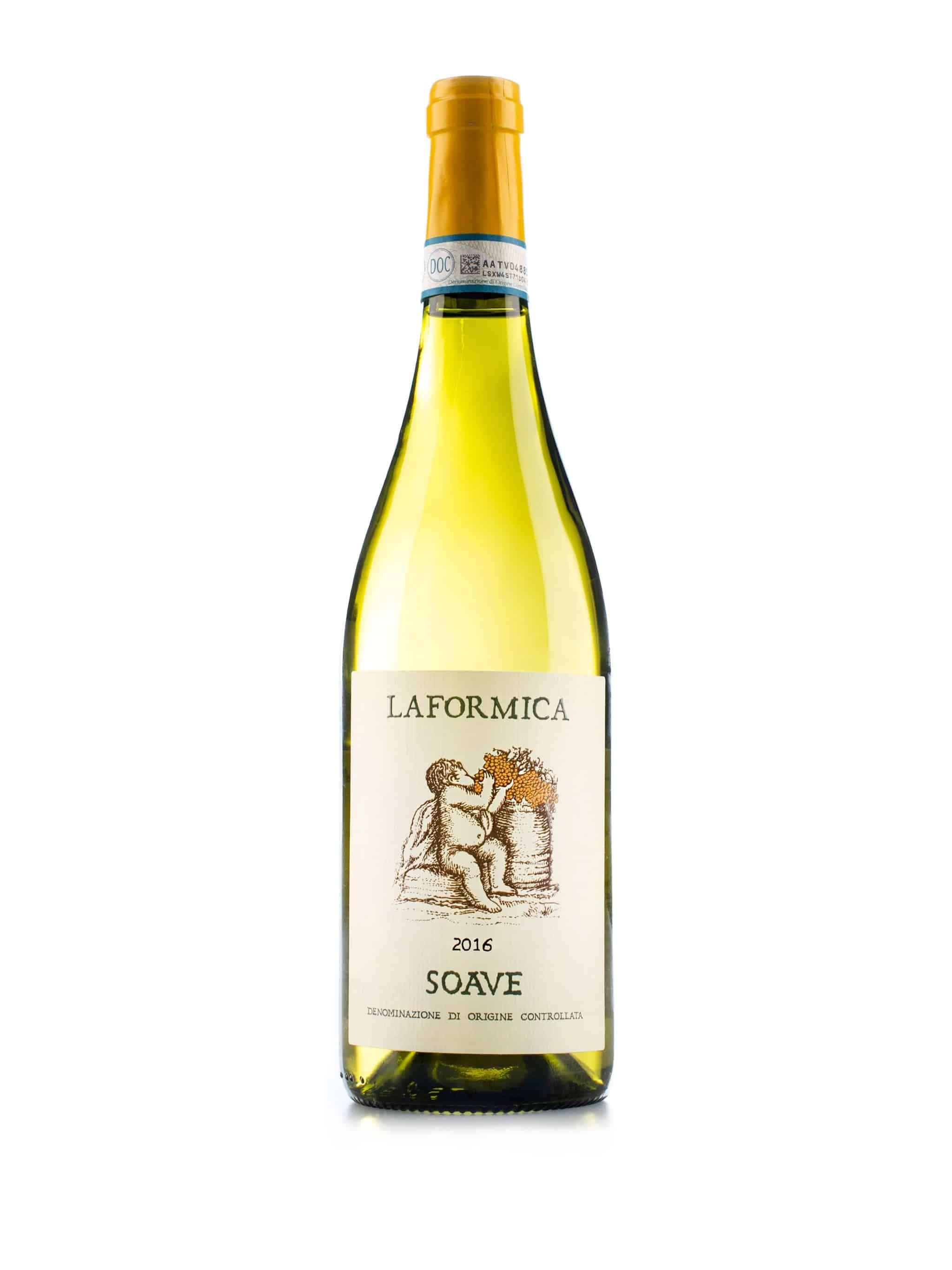Italiaanse witte wijn van wijndomein La Formica: Soave