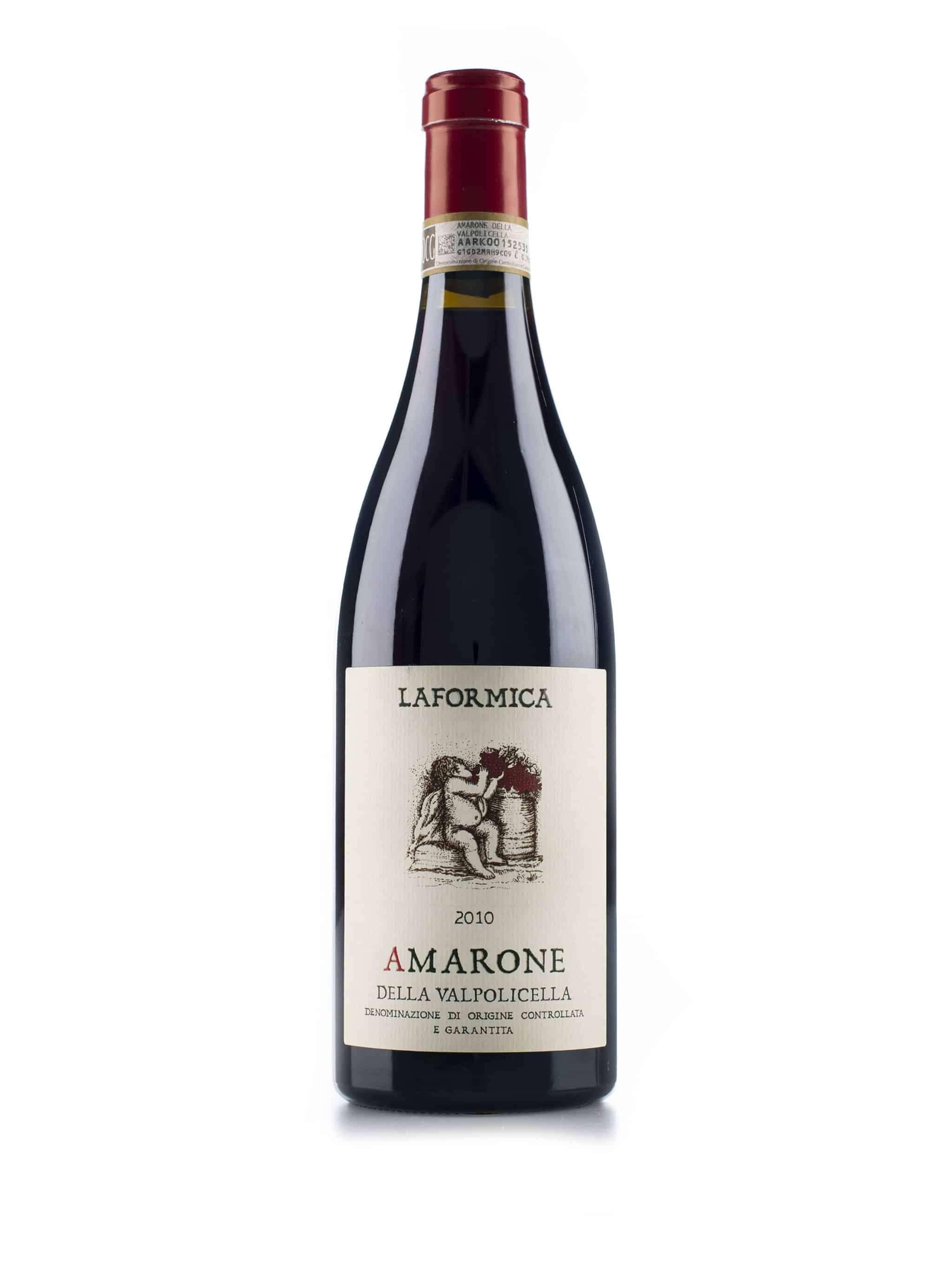 Italiaanse rode wijn van wijndomein La Formica: Amarone Della Valpolicella