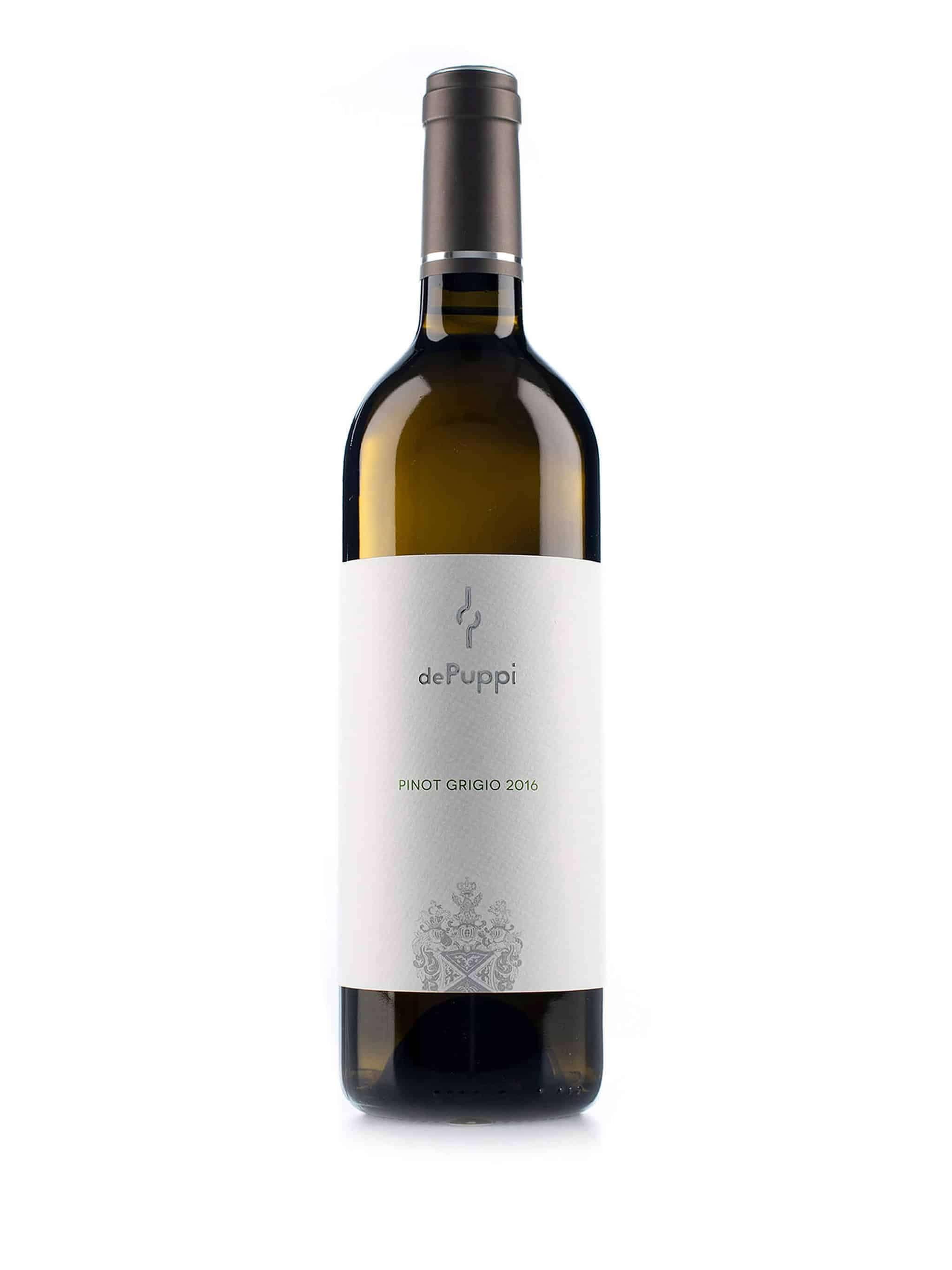 Italiaanse witte wijn van wijndomein Villa de Puppi: Pinot Grigio