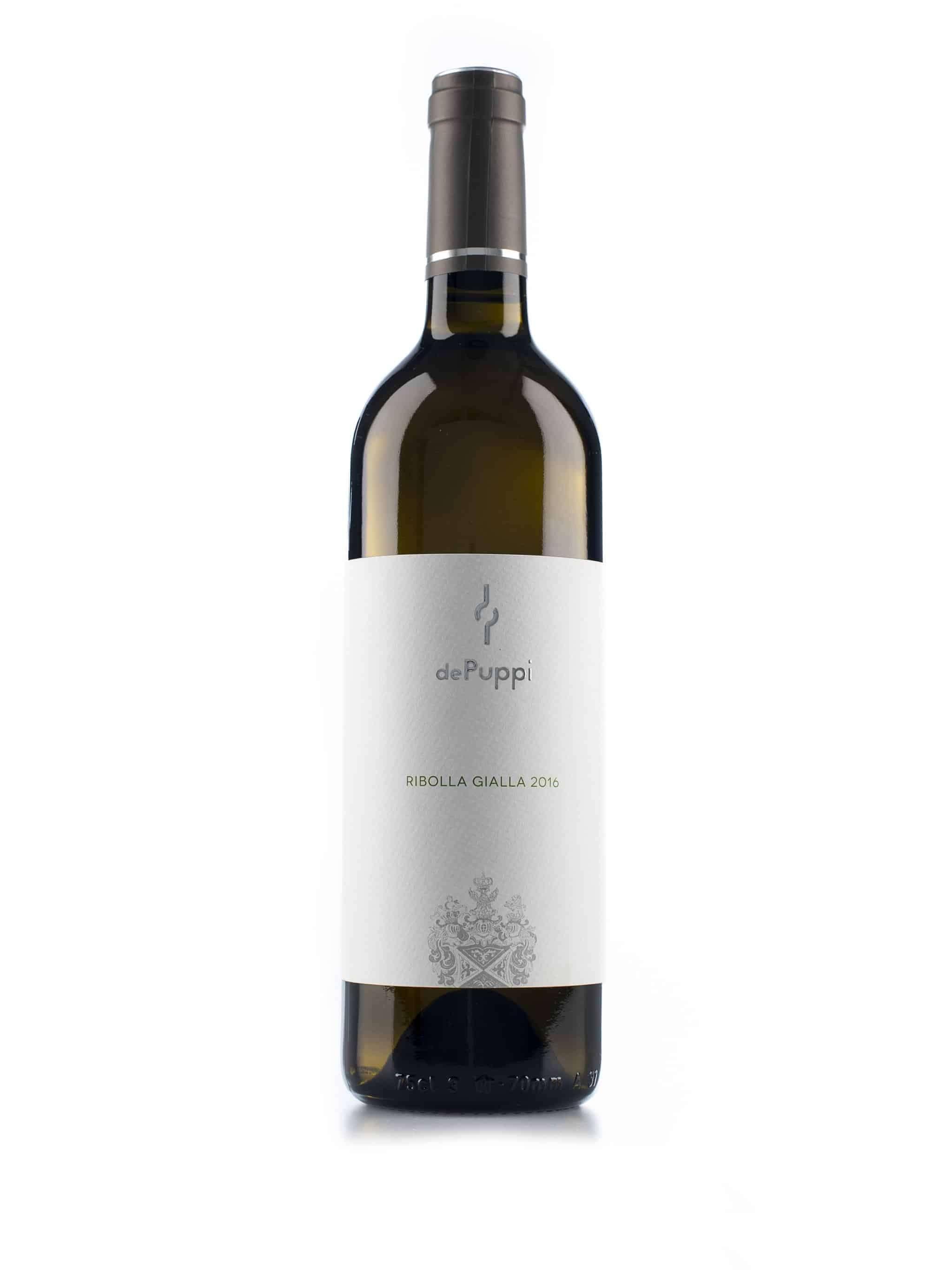 Italiaanse witte wijn van wijndomein Villa de Puppi: Ribolla Gialla
