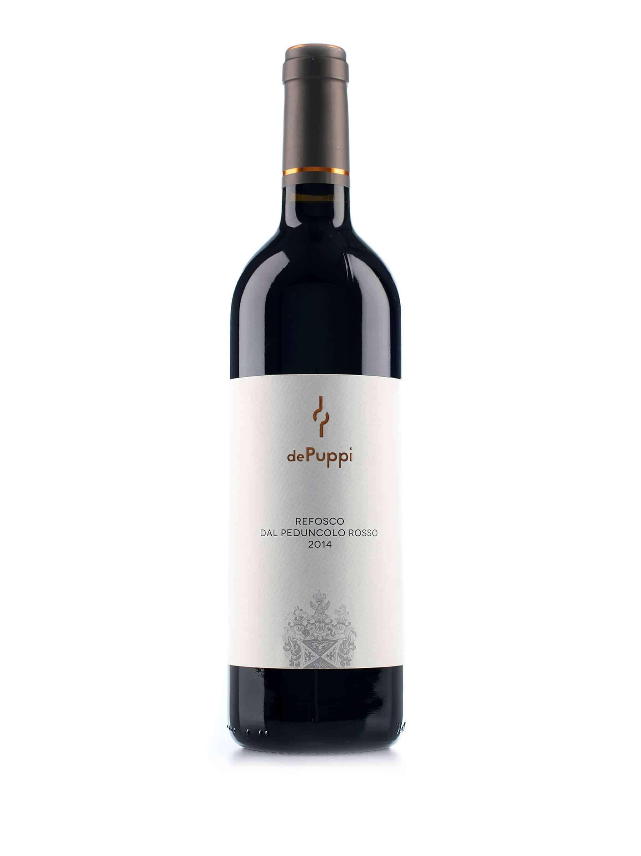 Italiaanse rode wijn van wijndomein Villa de Puppi: Refosco Dal Penduncolo Rosso