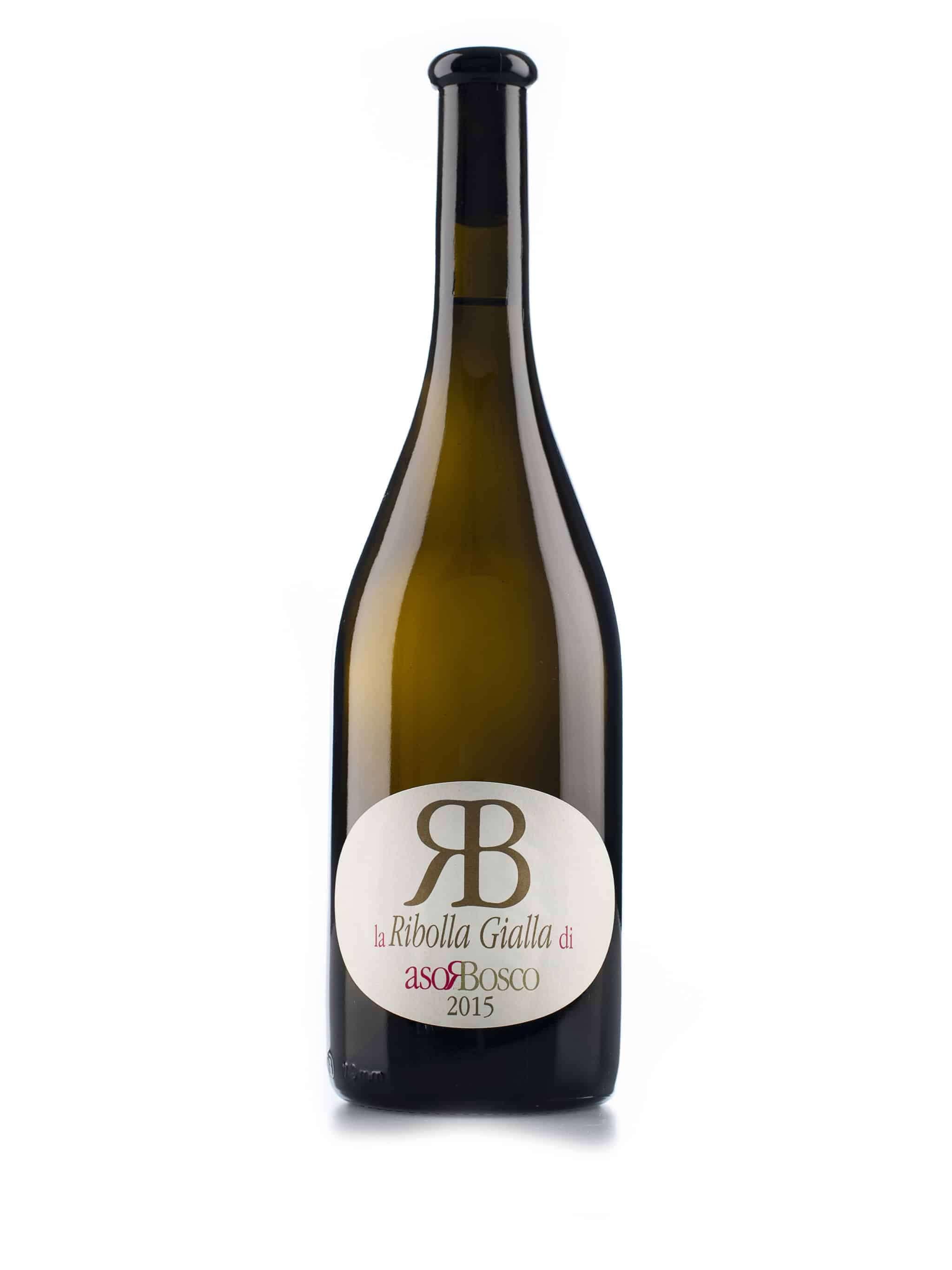 Italiaanse witte wijn van wijndomein Rosabosco: Ribolla Gialla