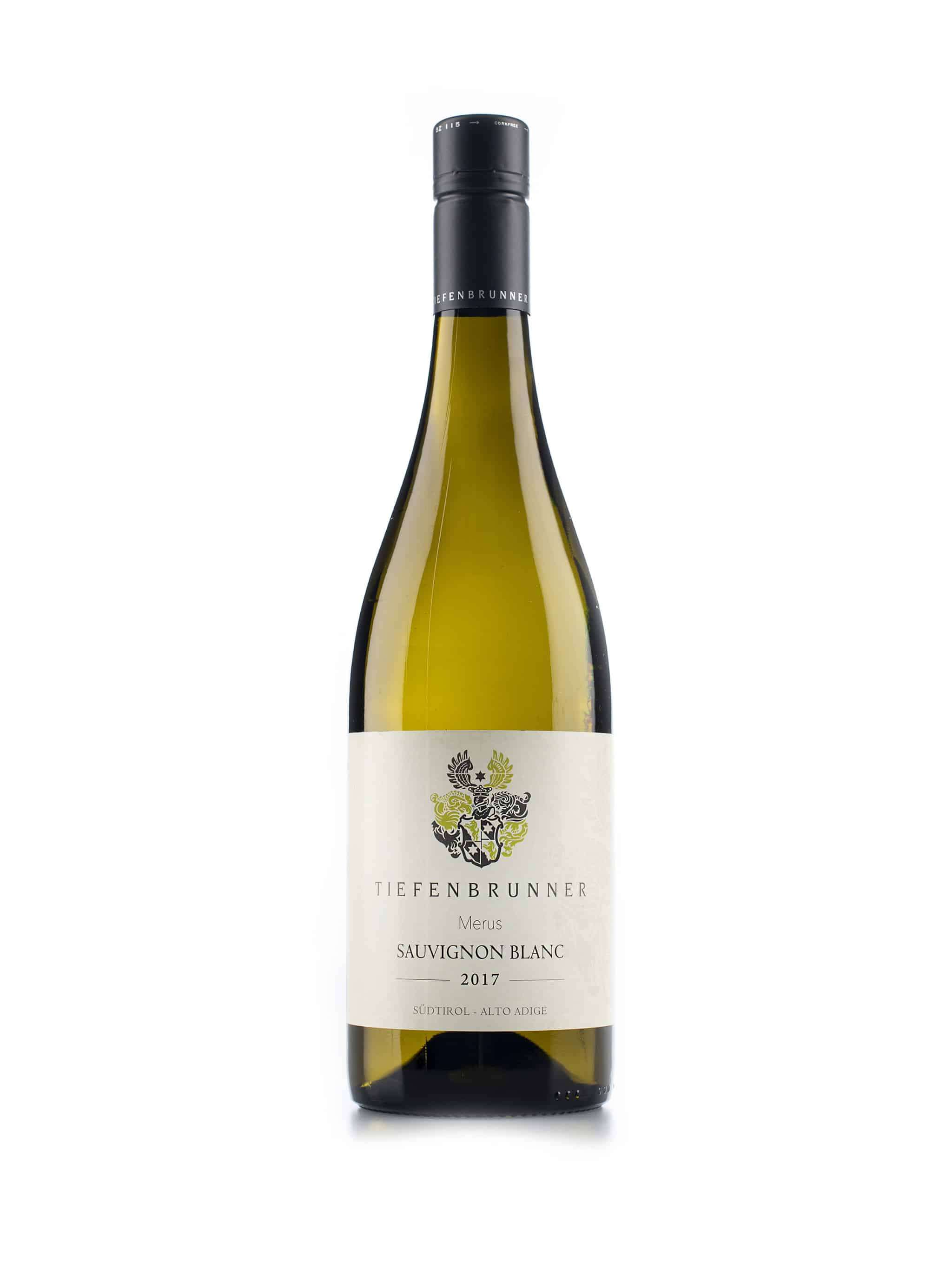 Italiaanse witte wijn van wijndomein Tiefenbrunner: Sauvignon Blanc