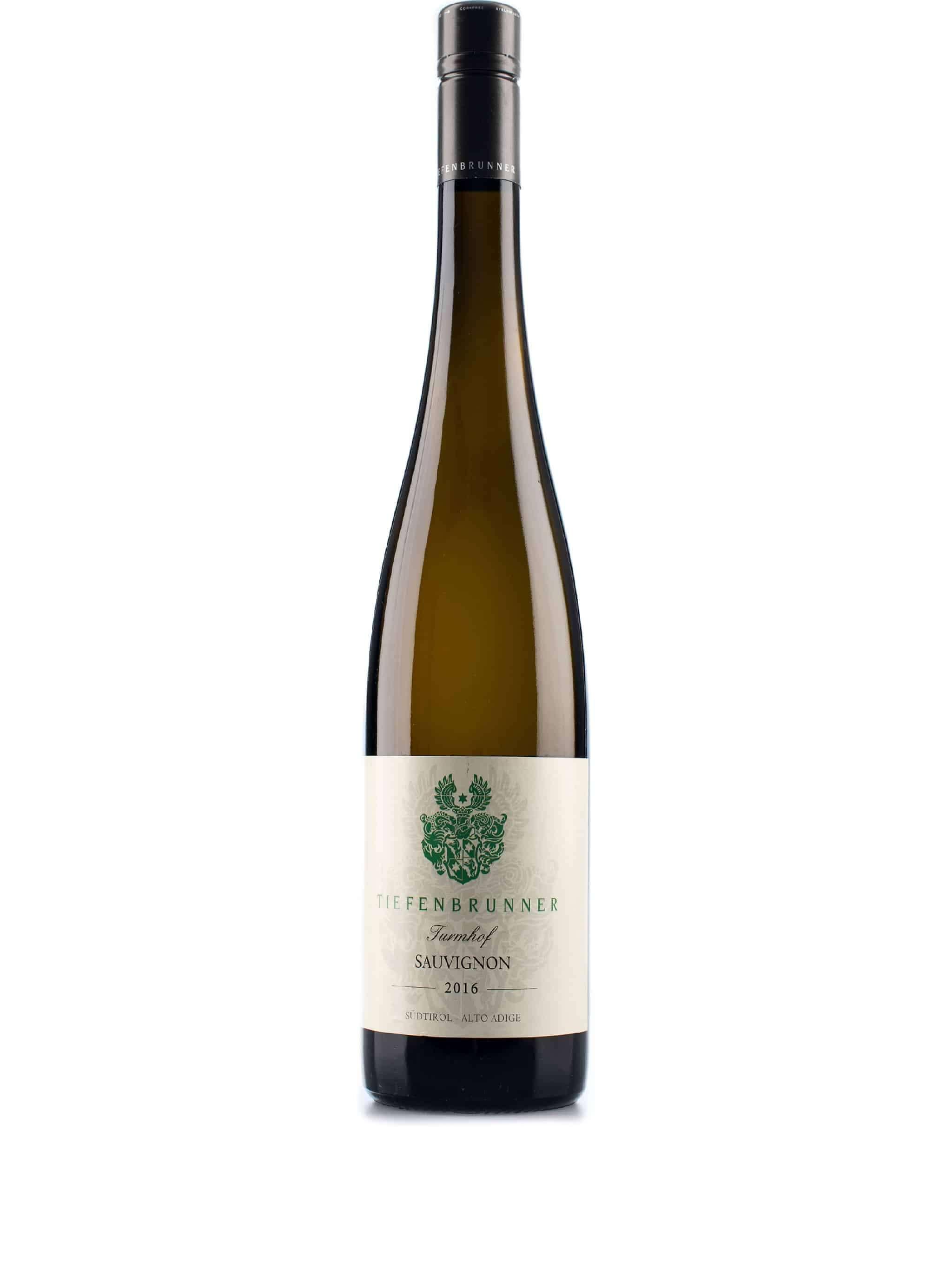 Italiaanse witte wijn van wijndomein Tiefenbrunner: Sauvignon Blanc 'Turmhof'