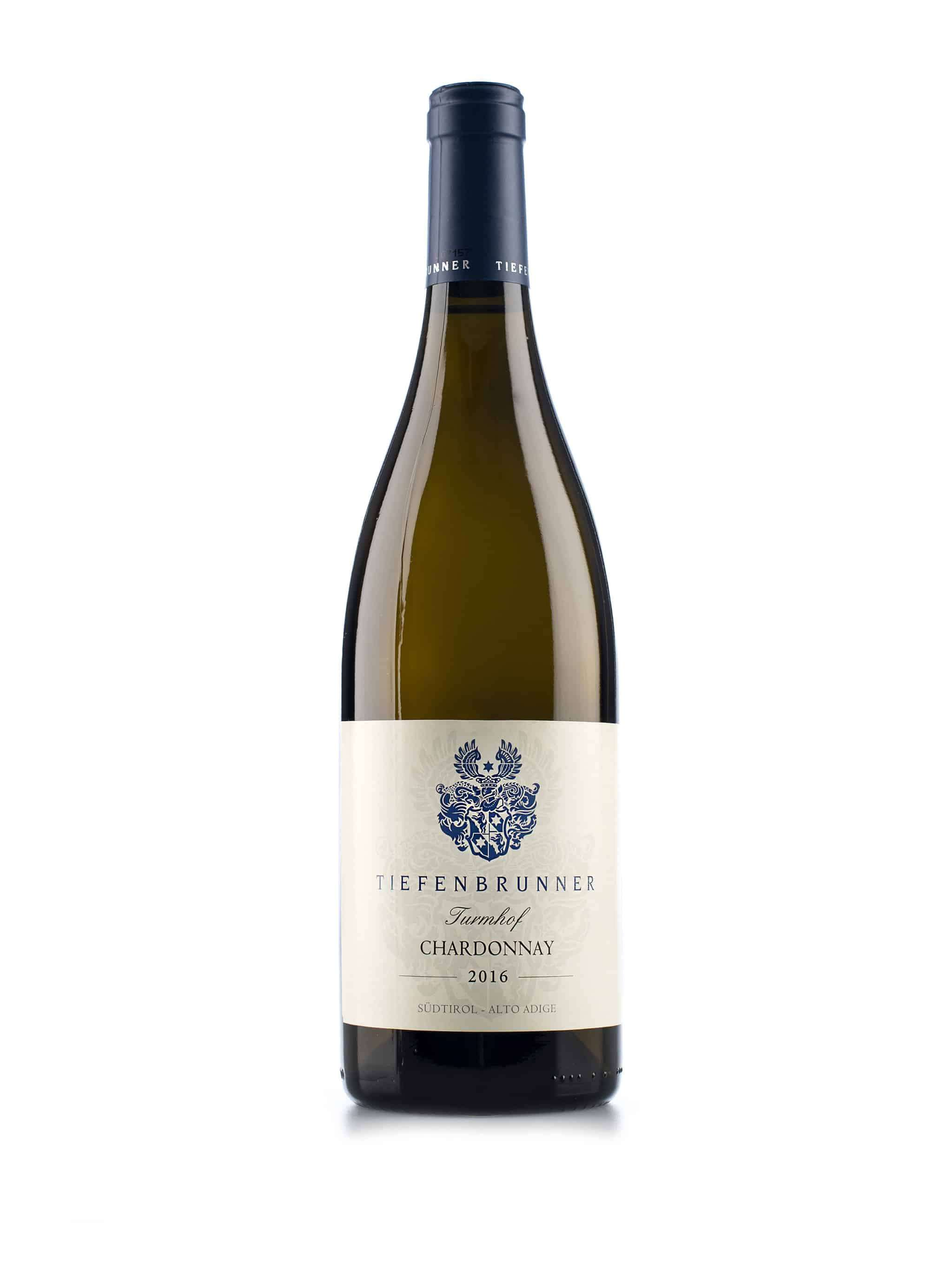 Italiaanse witte wijn van wijndomein Tiefenbrunner: Chardonnay 'Turmhof'