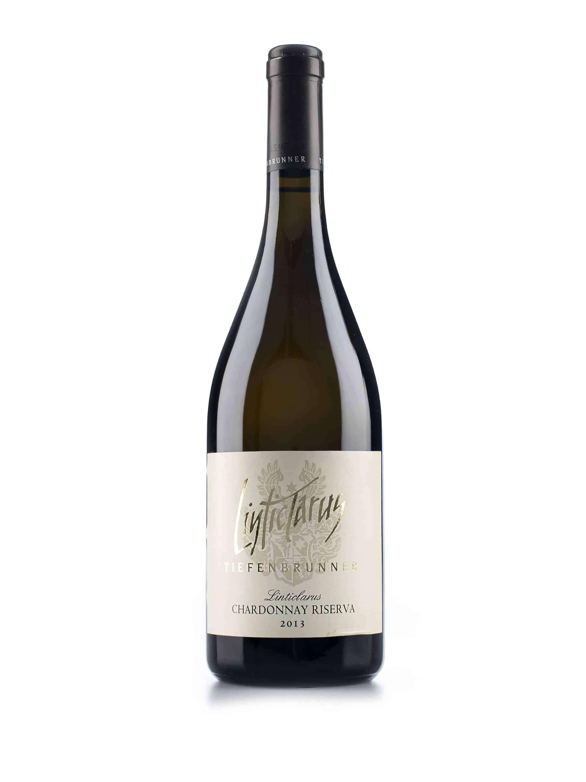 Italiaanse witte wijn van wijndomein Tiefenbrunner: Chardonnay 'Linticlarus'
