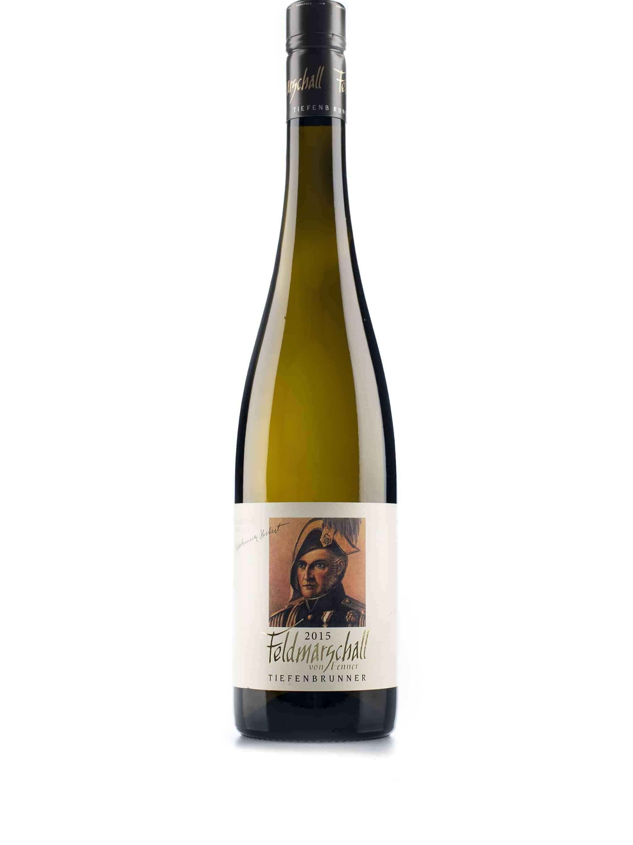 Italiaanse witte wijn van wijndomein Tiefenbrunner: Feldmarschall Von Fenner