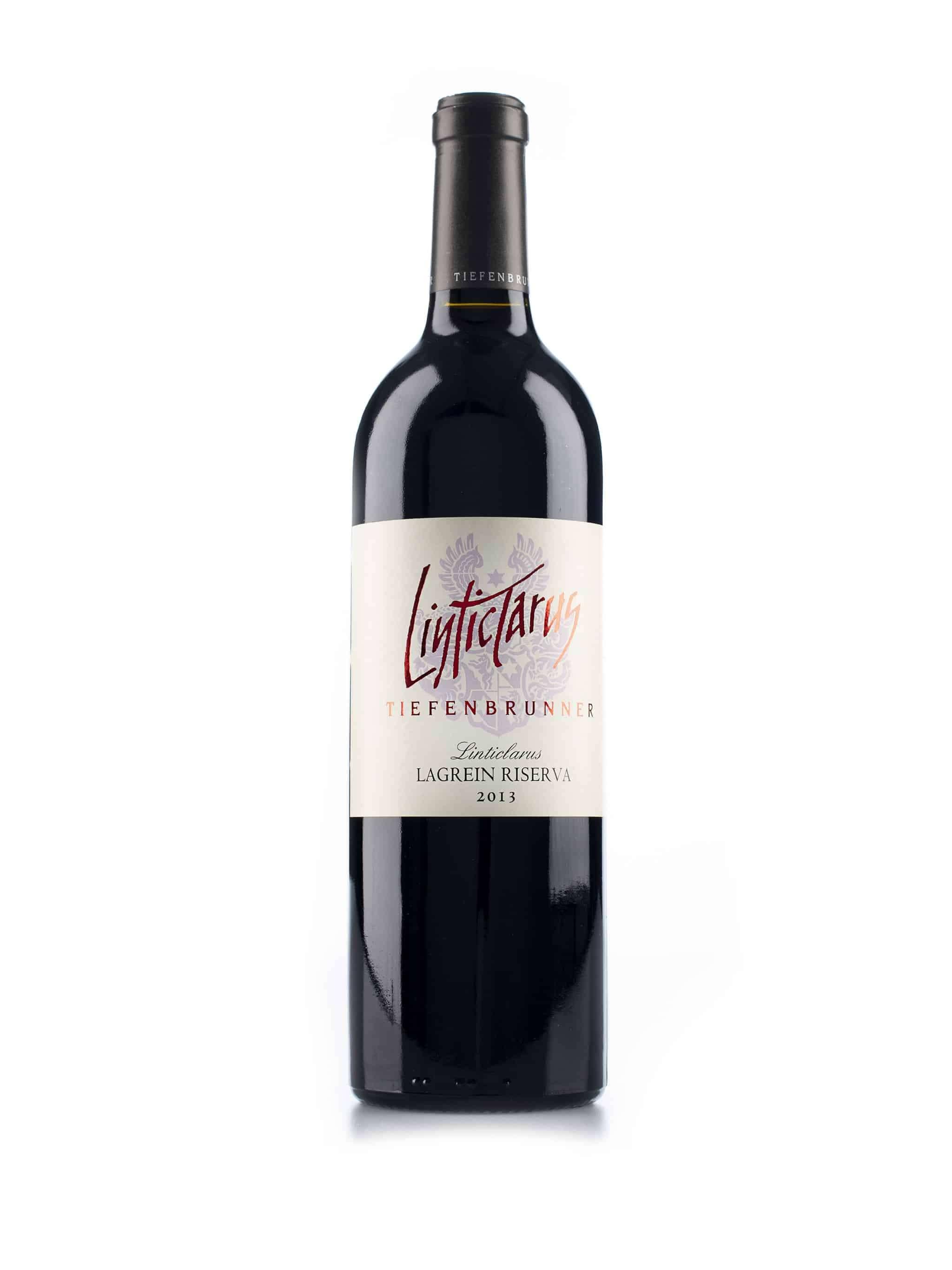 Italiaanse rode wijn van wijndomein Tiefenbrunner: Lagrein 'Linticlarus'