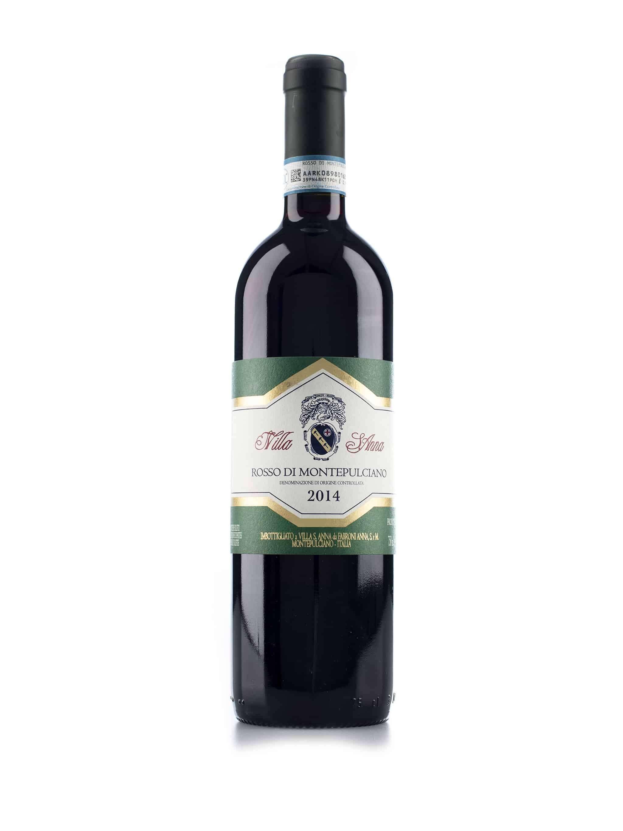 Italiaanse rode wijn van wijndomein Villa Sant'Anna: Rosso di Montepulciano
