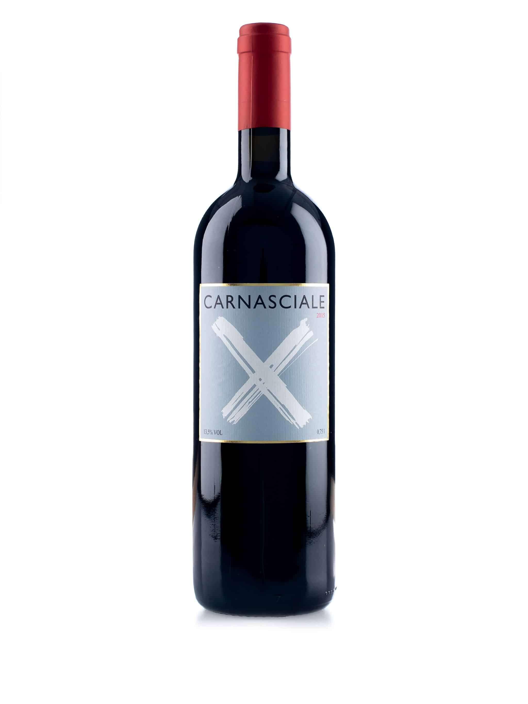 Italiaanse rode wijn van wijndomein Podere Il Carnasciale: Carnasciale