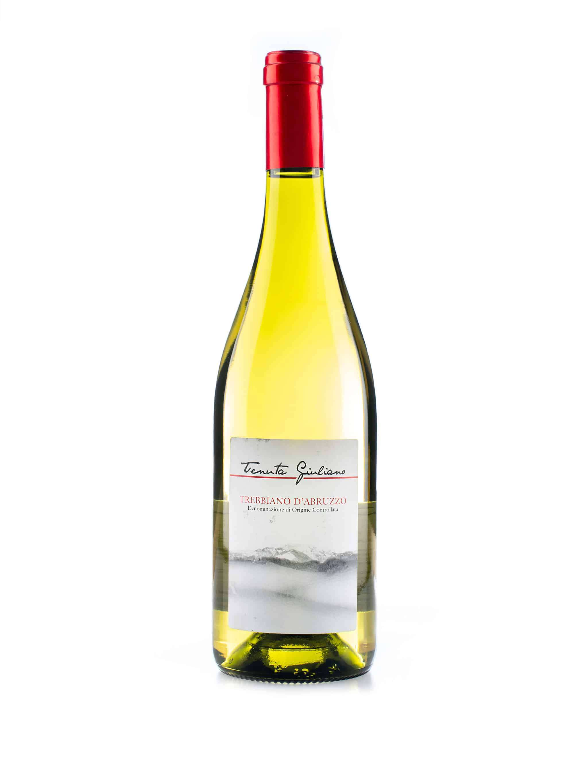 Italiaanse witte wijn van wijndomein Tenuta Giuliano: Trebbiano d'Abruzzo