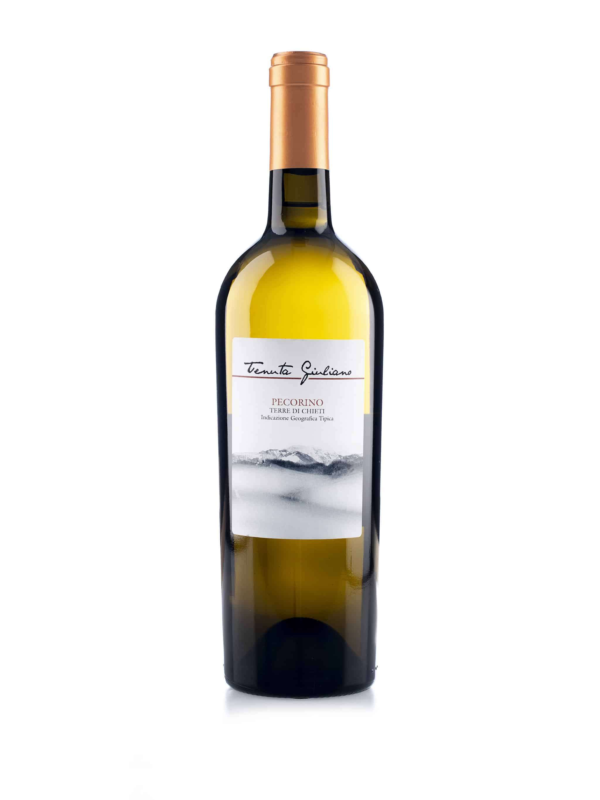 Italiaanse witte wijn van wijndomein Tenuta Giuliano: Pecorino 'Terre di Chieti'