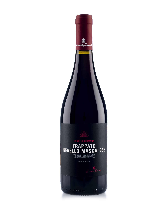 Italiaanse rode wijn van wijndomein Caruso & Minini: Frappato/Nerello Mascalese