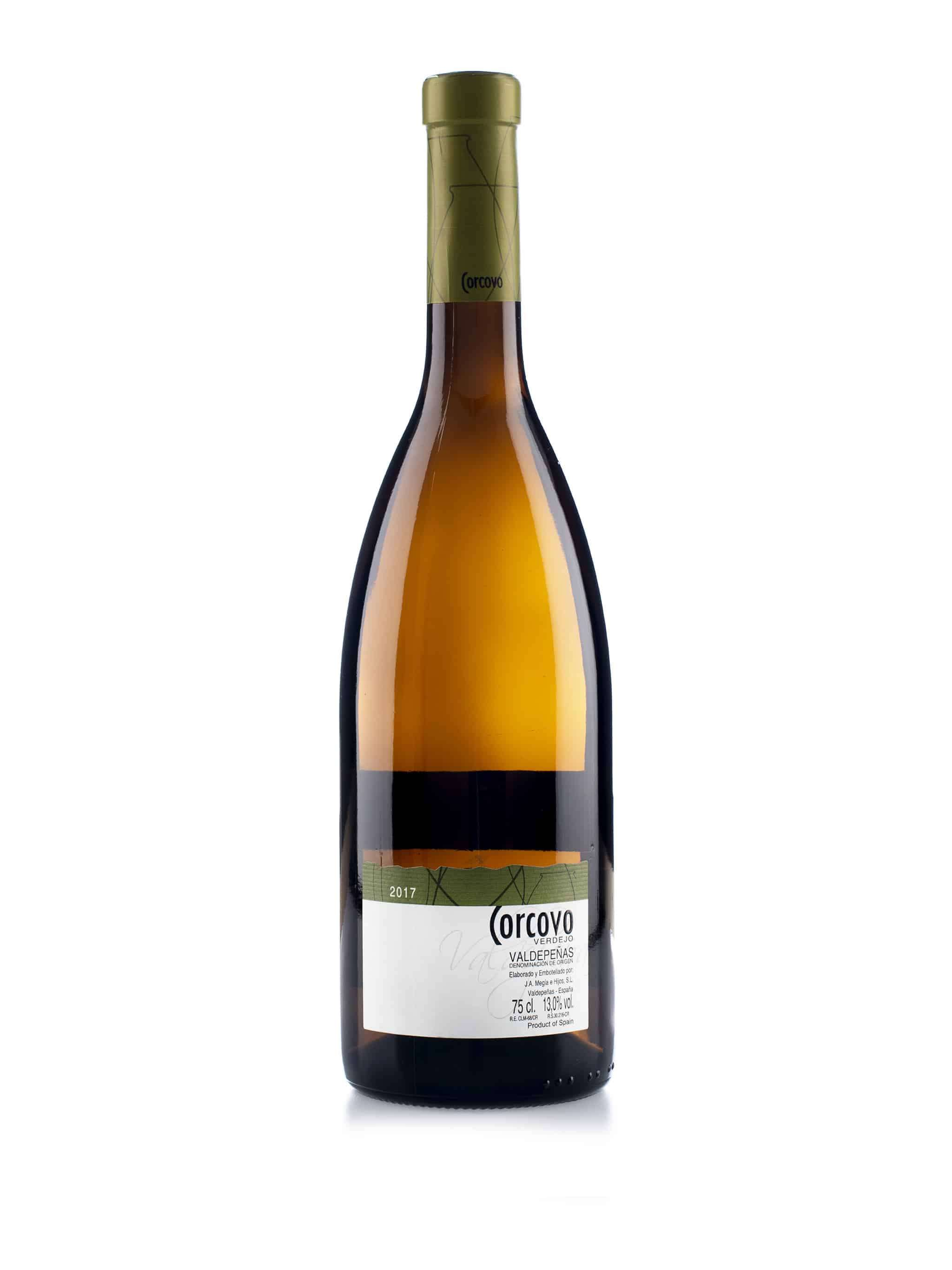 Spaanse witte wijn van wijndomein Corcovo: Verdejo