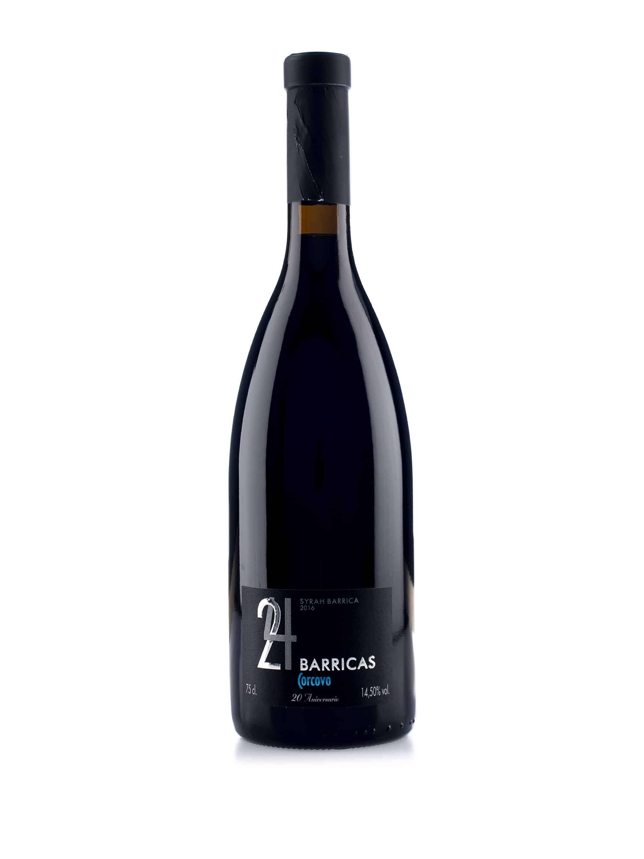 Spaanse rode wijn van wijndomein Corcovo: Syrah '24 barrique'
