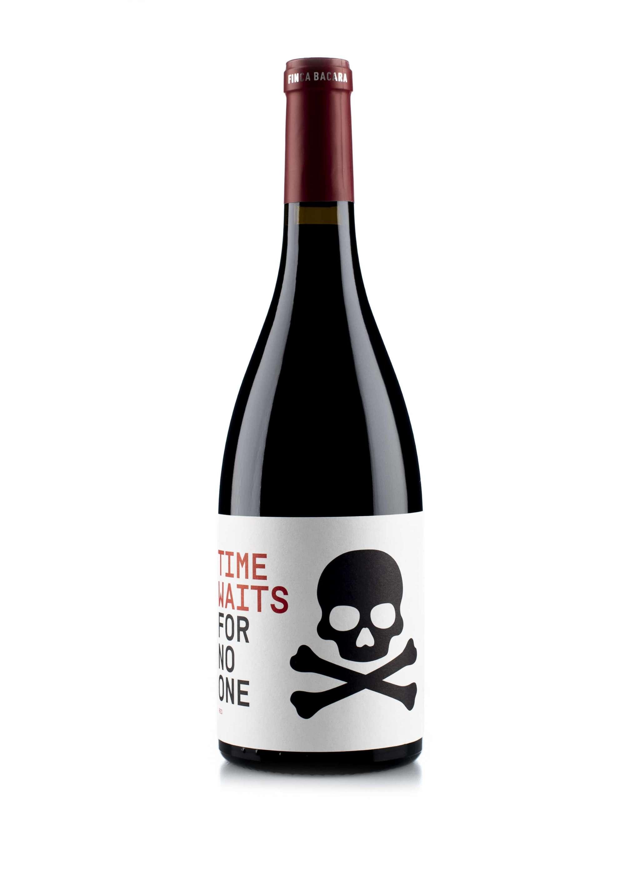 Spaanse rode wijn van wijndomein Finca Bacara: Monastrell 'Time waits for no one'