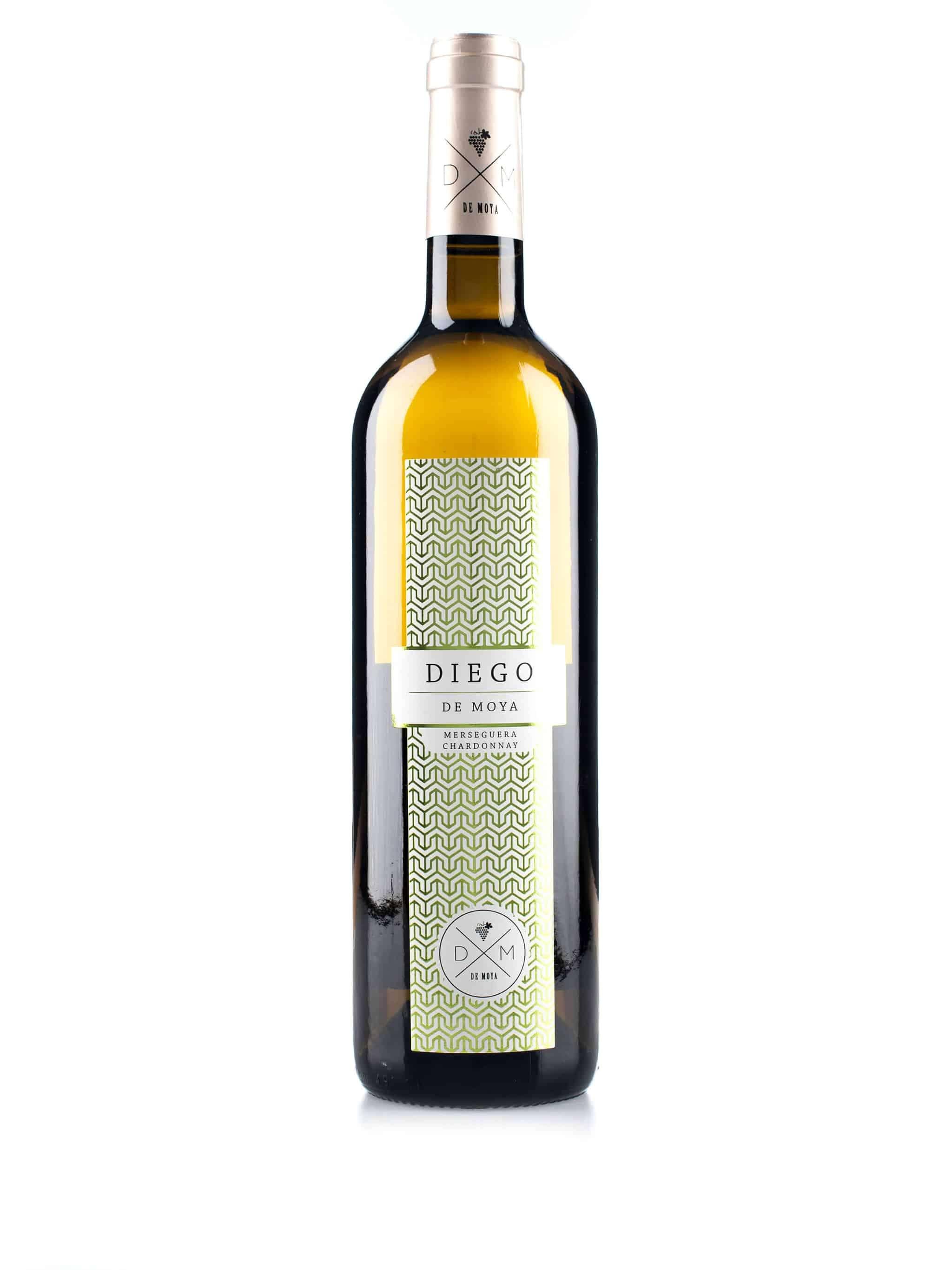 Spaanse witte wijn van wijndomein Bodegas de Moya: Diego