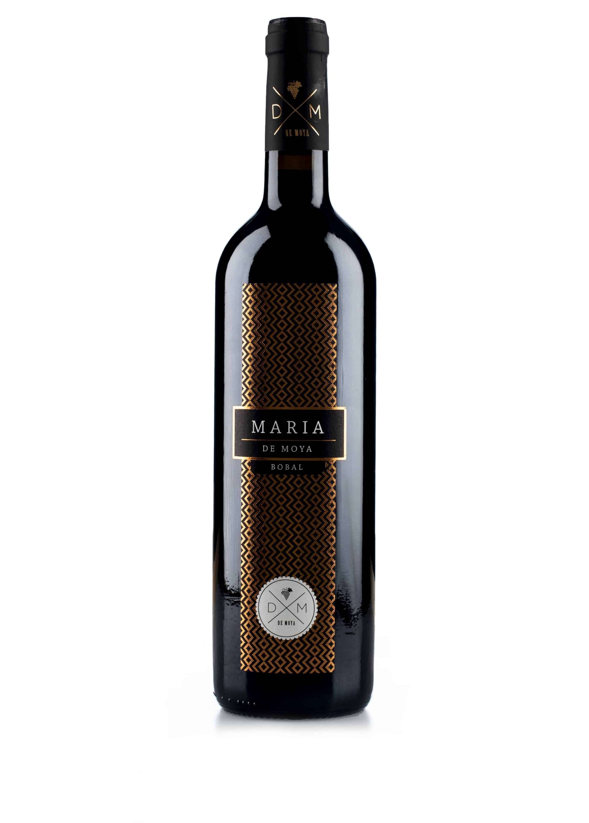 Spaanse rode wijn van wijndomein Bodegas de Moya: Maria
