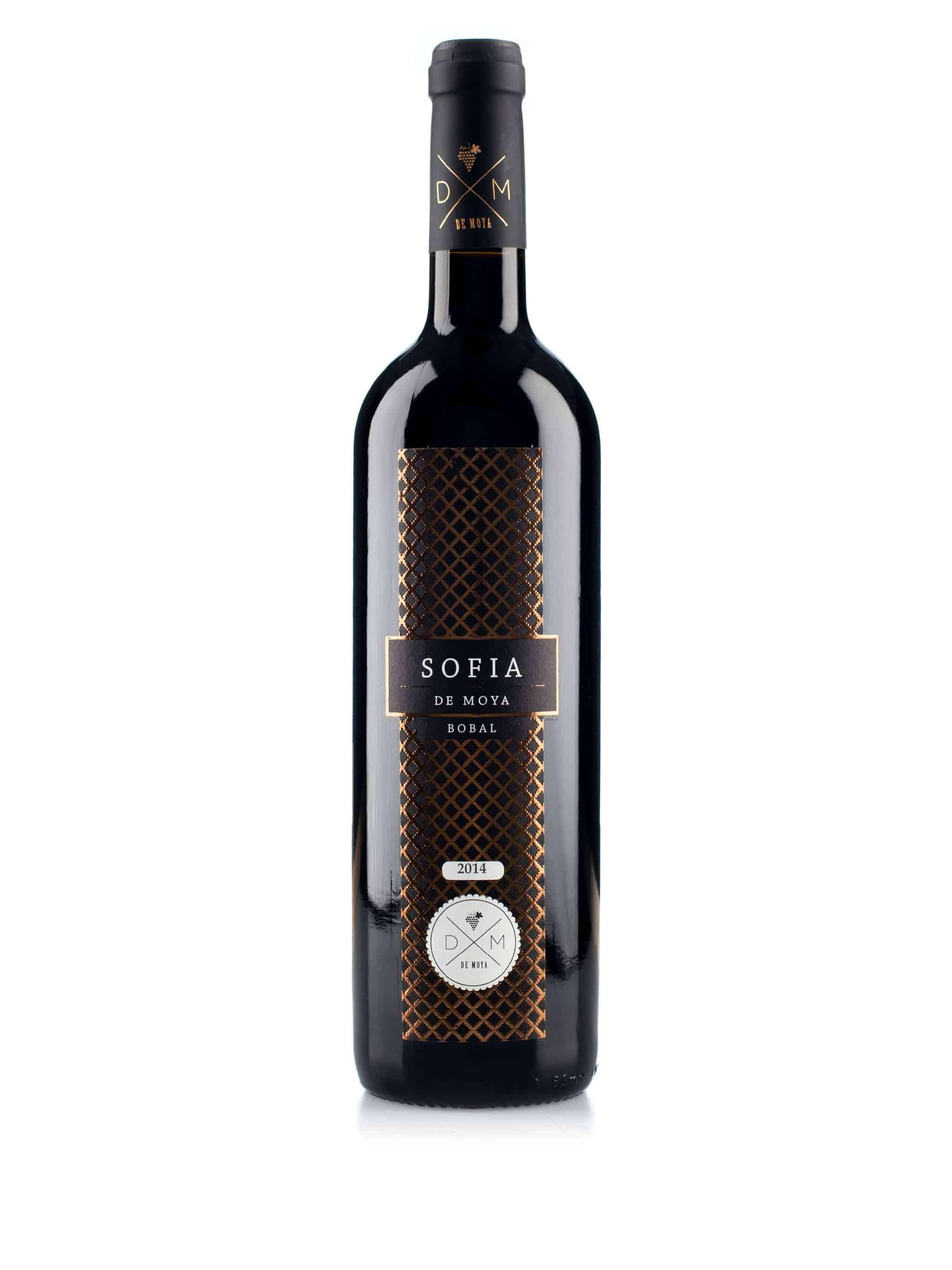 Spaanse rode wijn van wijndomein Bodegas de Moya: Sofia