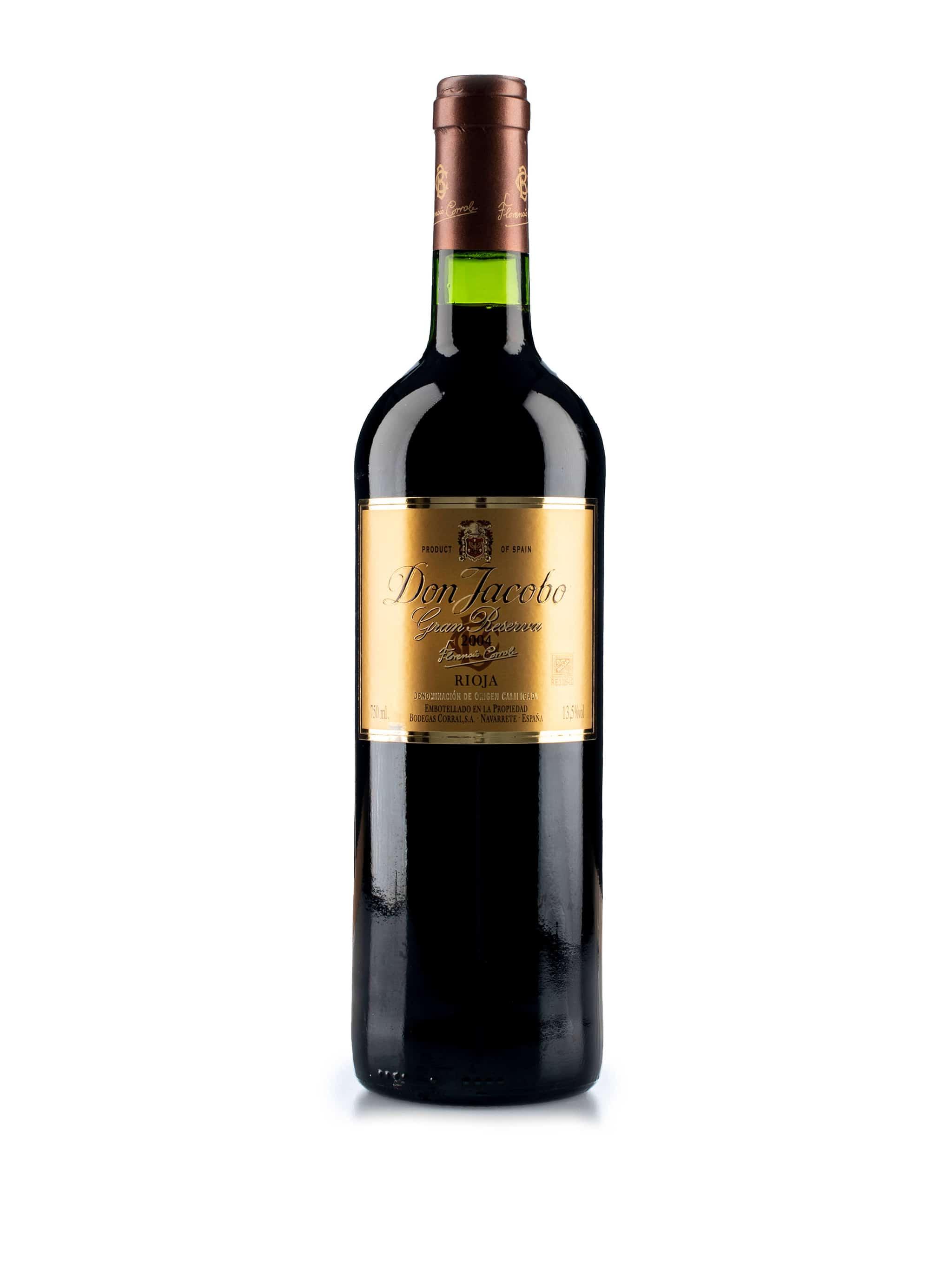 Spaanse rode wijn van wijndomein Don Jacobo: Don Jacobo 'Gran Reserva'