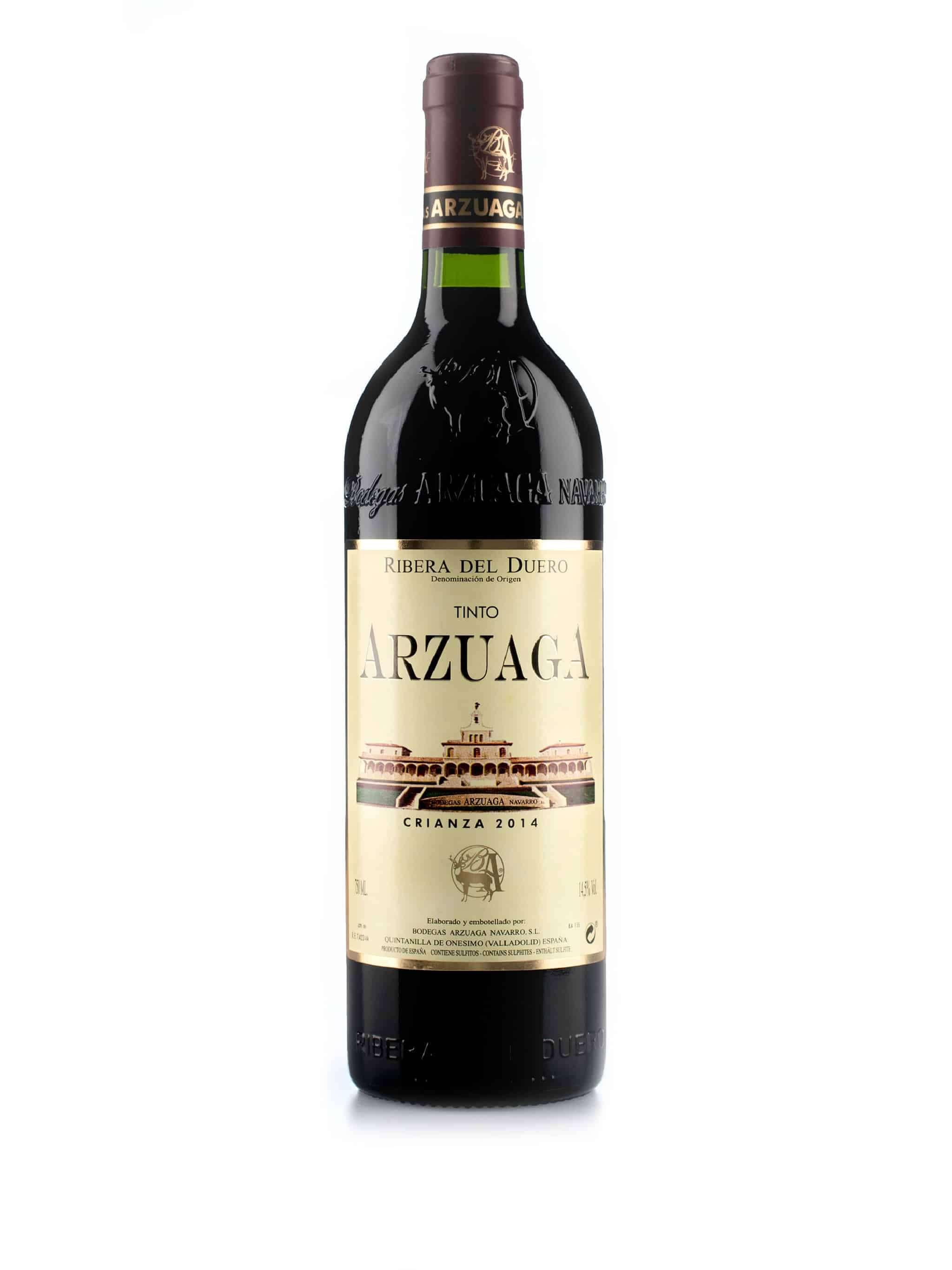 Spaanse rode wijn van wijndomein Arzuaga: Arzuaga 'Crianza'