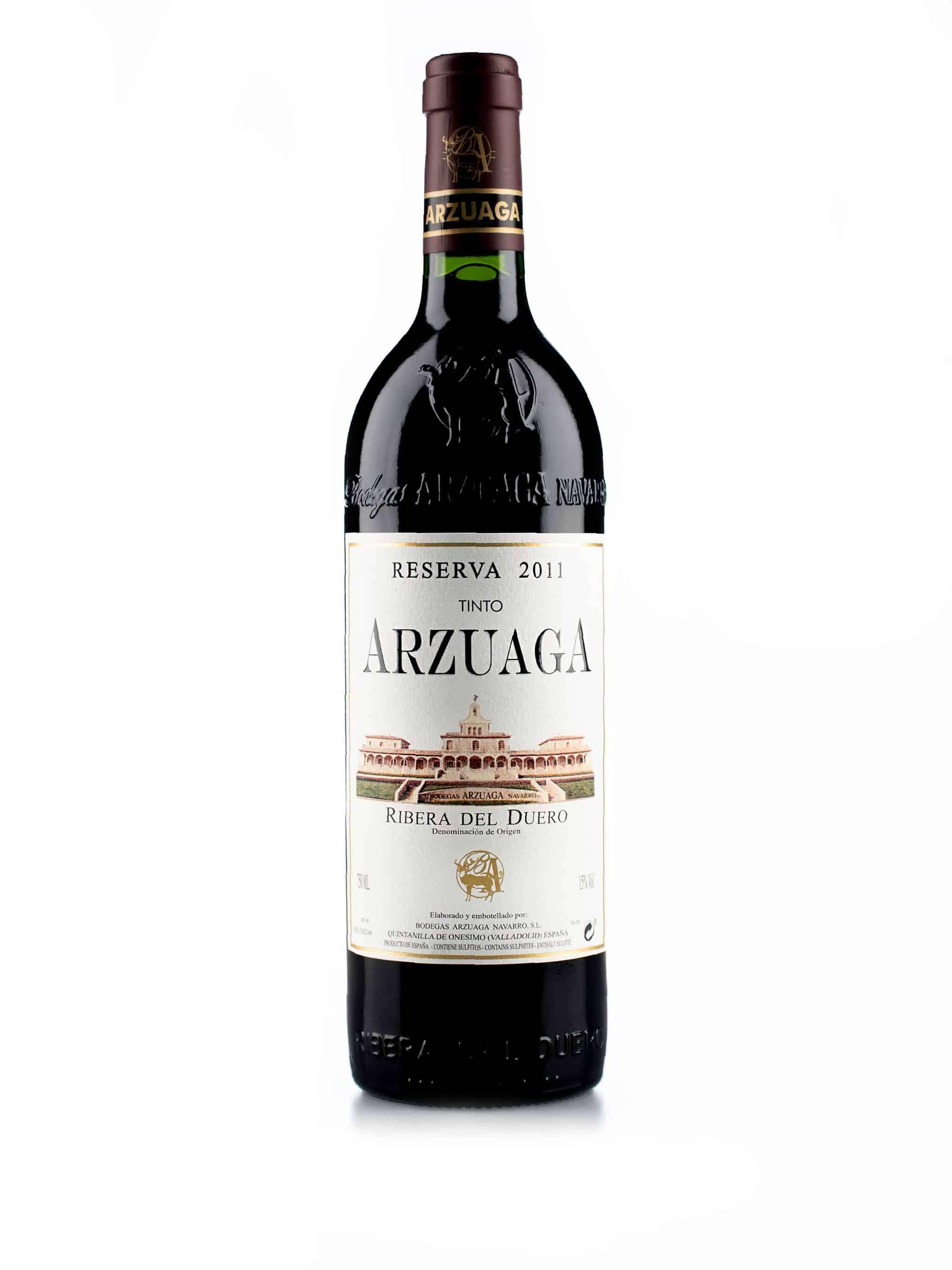 Spaanse rode wijn van wijndomein Arzuaga: Arzuaga 'Reserva'