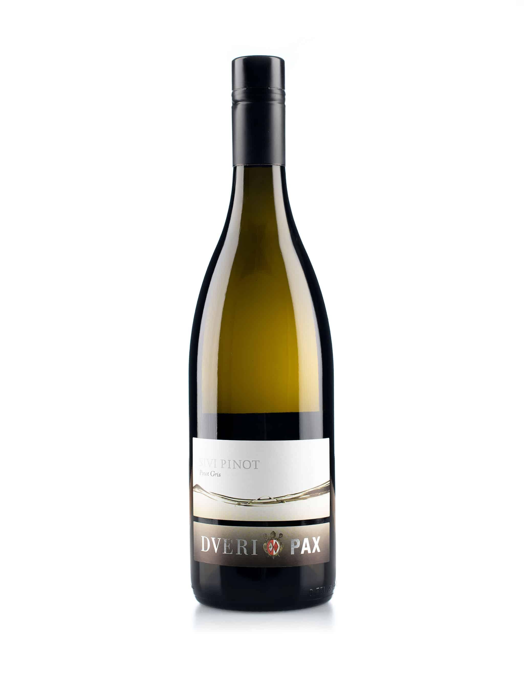Sloveense witte wijn van wijndomein Dveri-Pax: Pinot Grigio