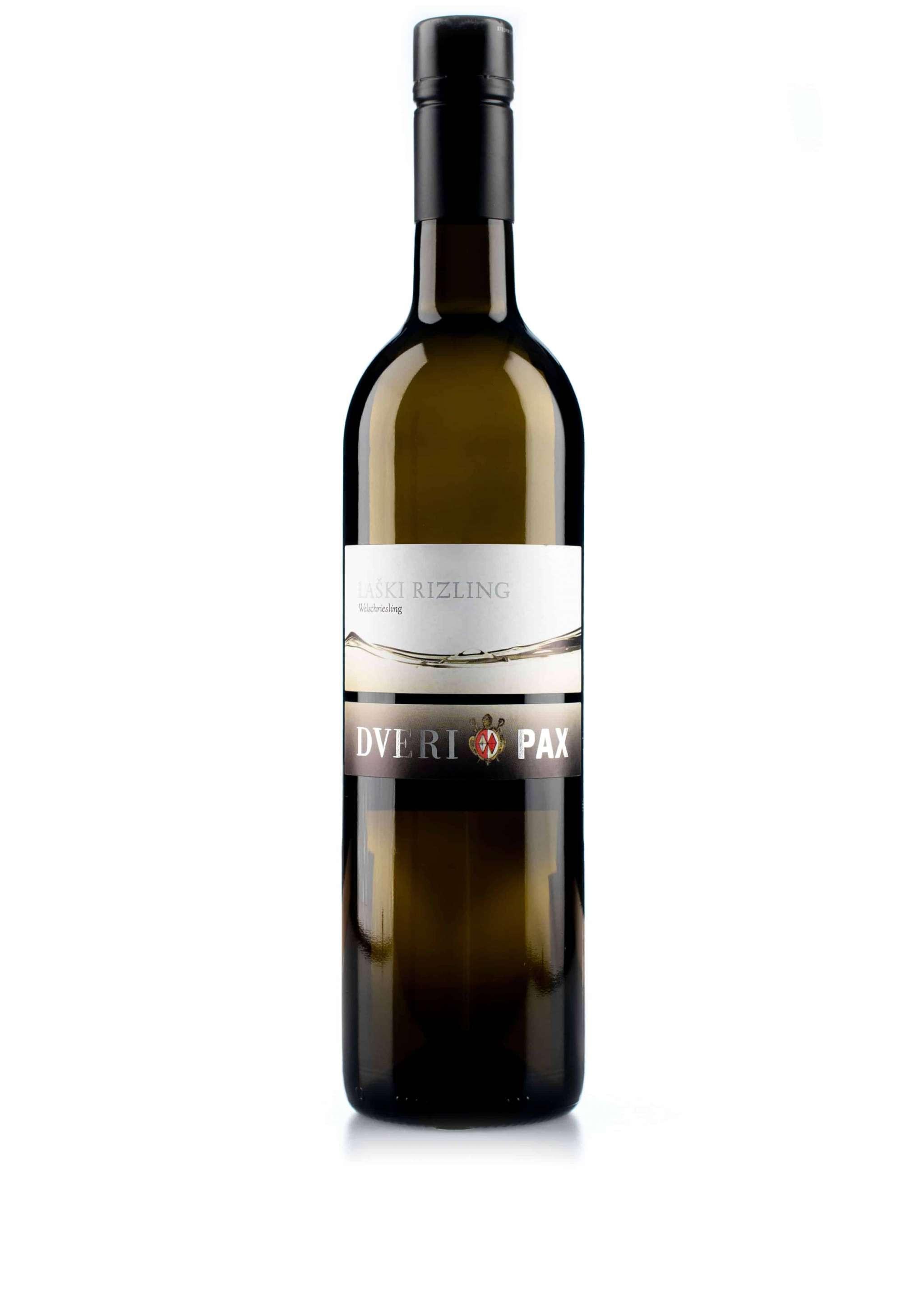Sloveense witte wijn van wijndomein Dveri-Pax: Larski Riesling