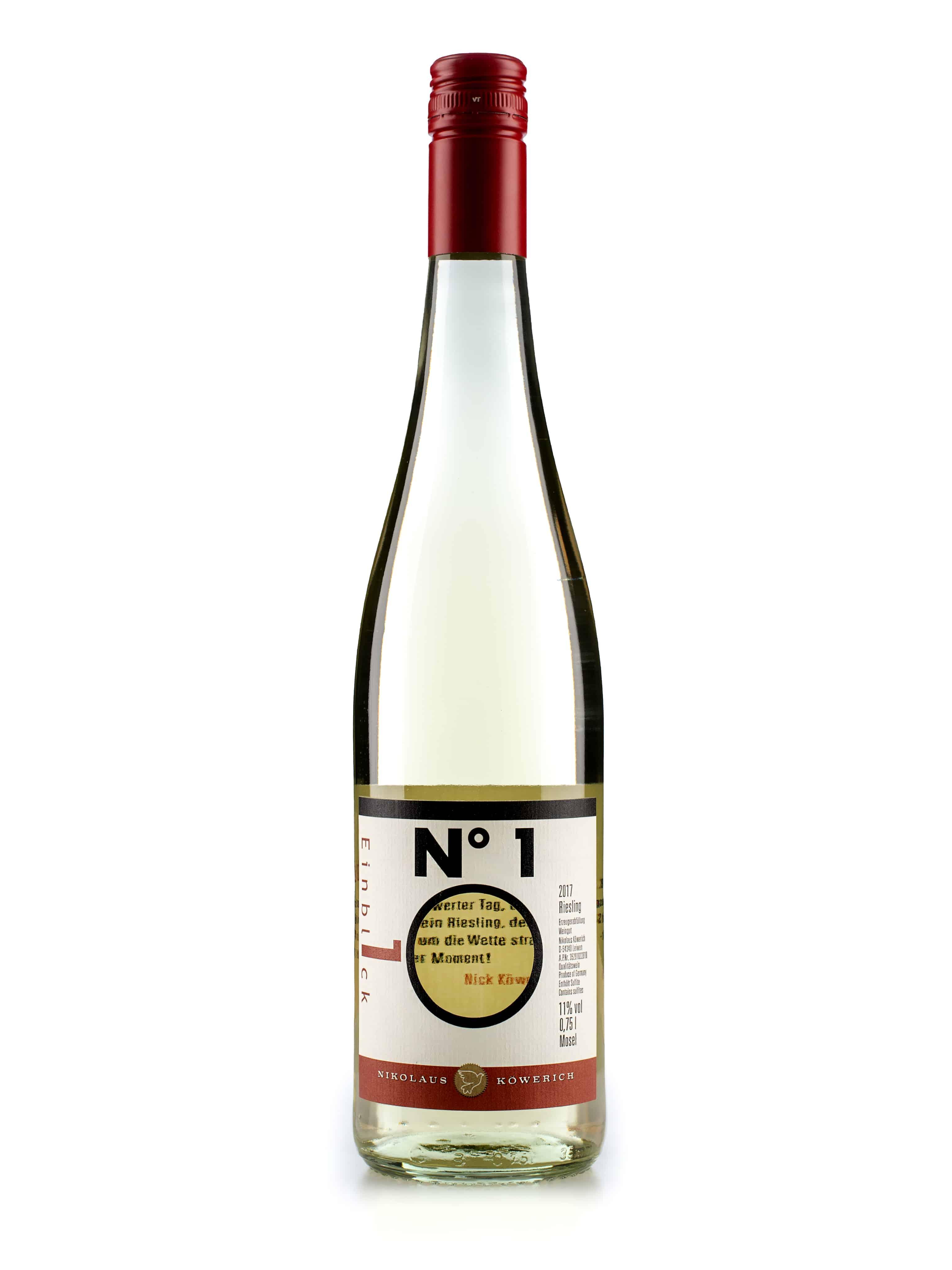 Duitse witte wijn van wijndomein Nick Köwerich: Riesling 'Nr1'