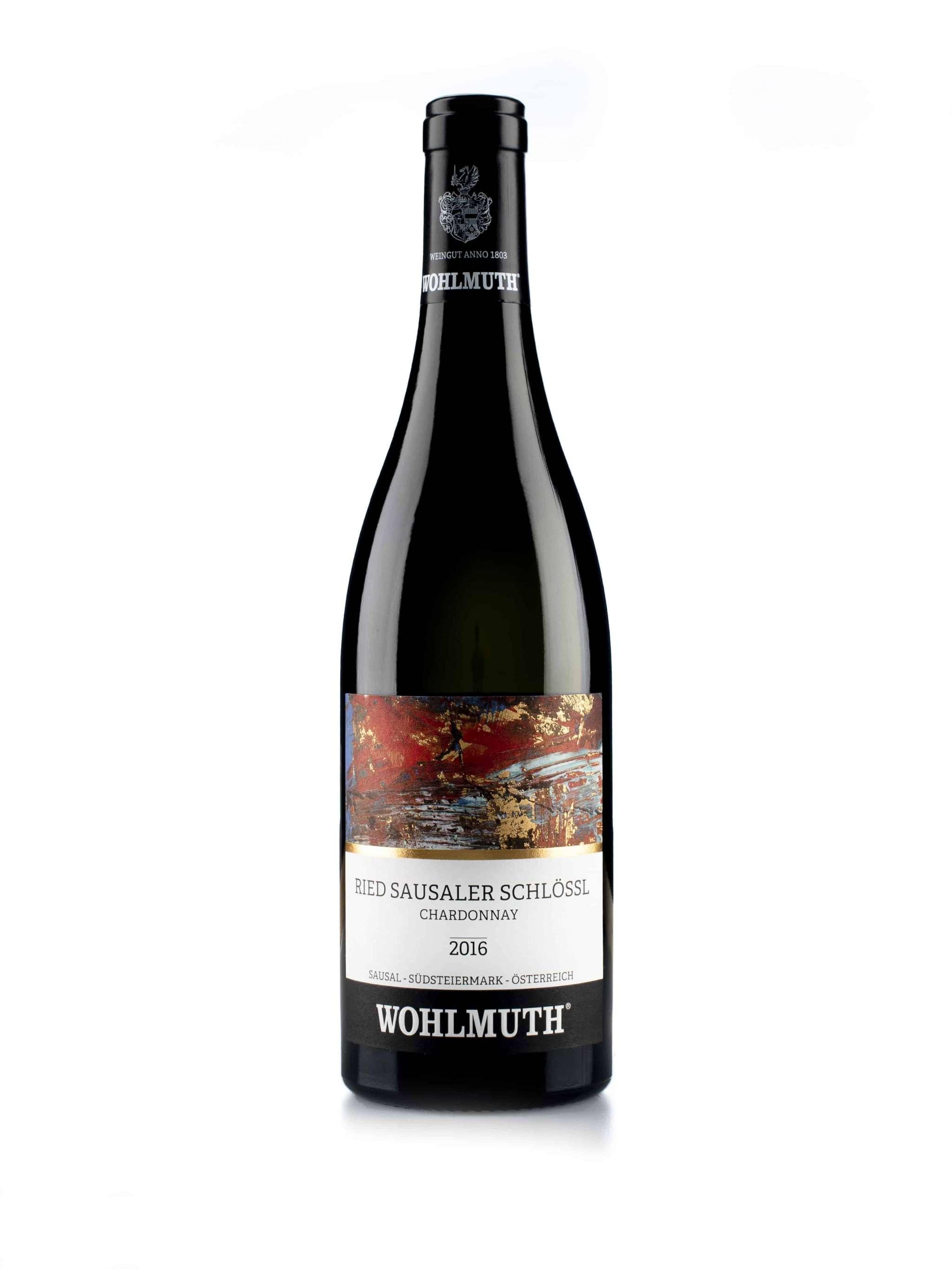 Oostenrijkse rode wijn van wijndomein Wohlmuth: Chardonnay 'Ried Saudal Schlosl'