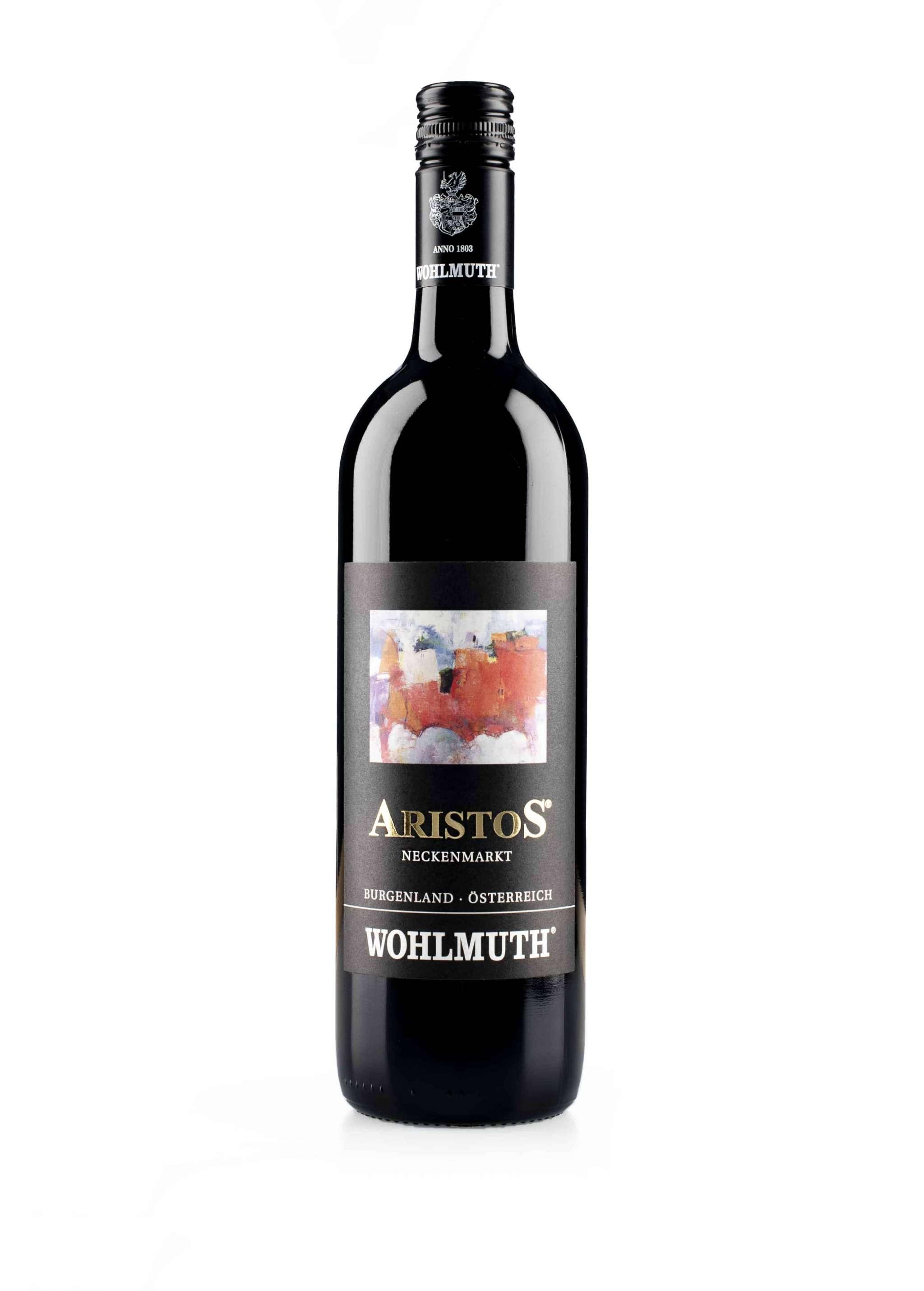 Oostenrijkse rode wijn van wijndomein Wohlmuth: Aristos'