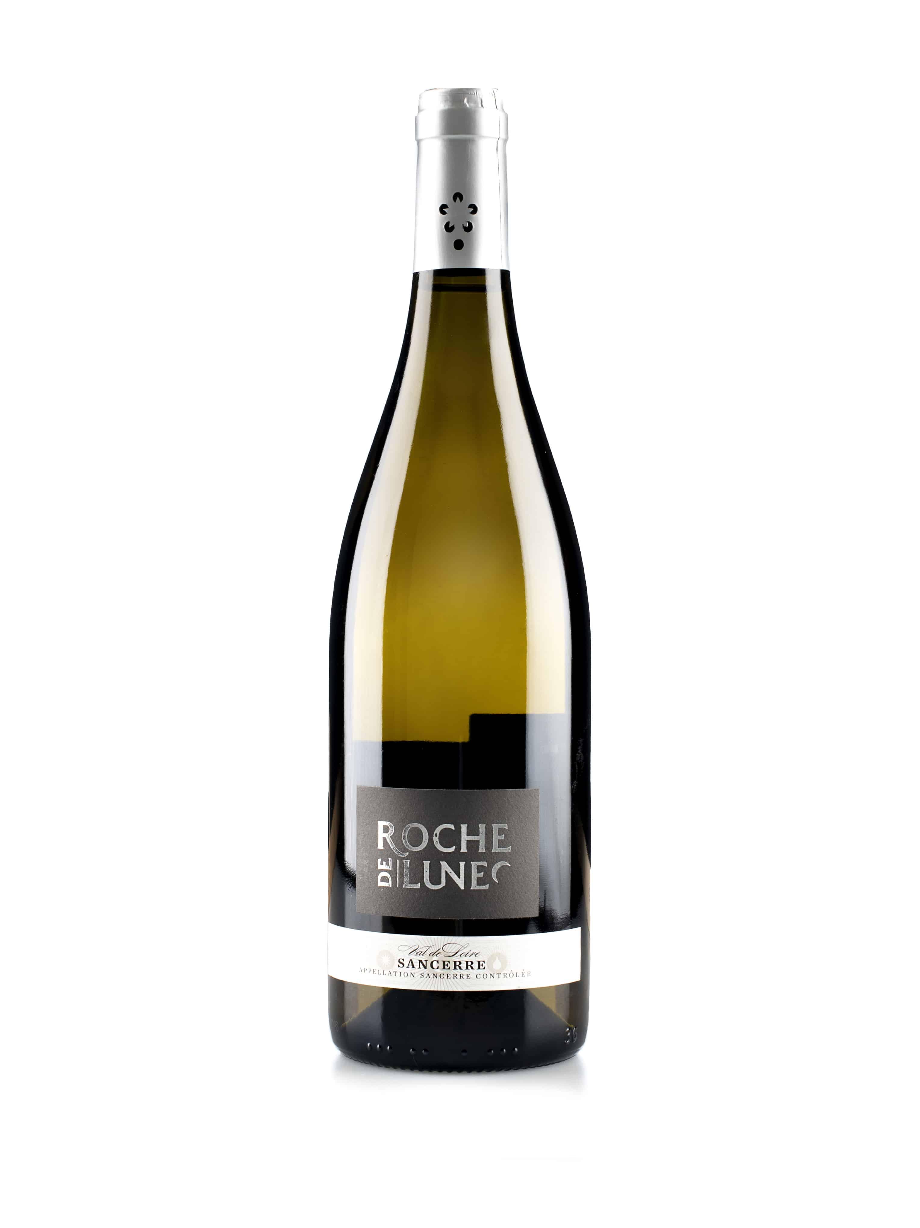 Franse witte wijn van wijndomein Alpha-Loire: Sancerre, Roche de Lune
