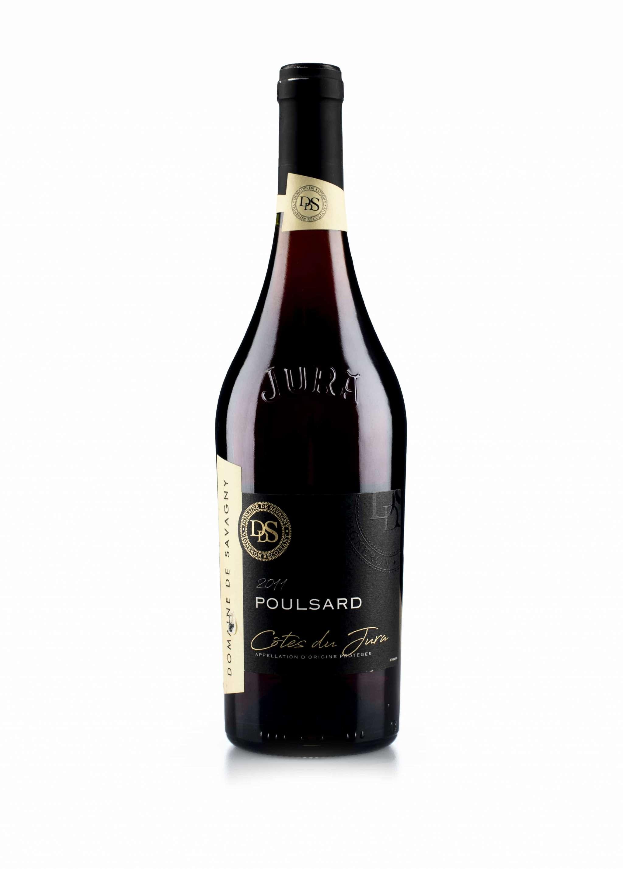Franse rode wijn van wijndomein Domaine de Savagny: Poulsard