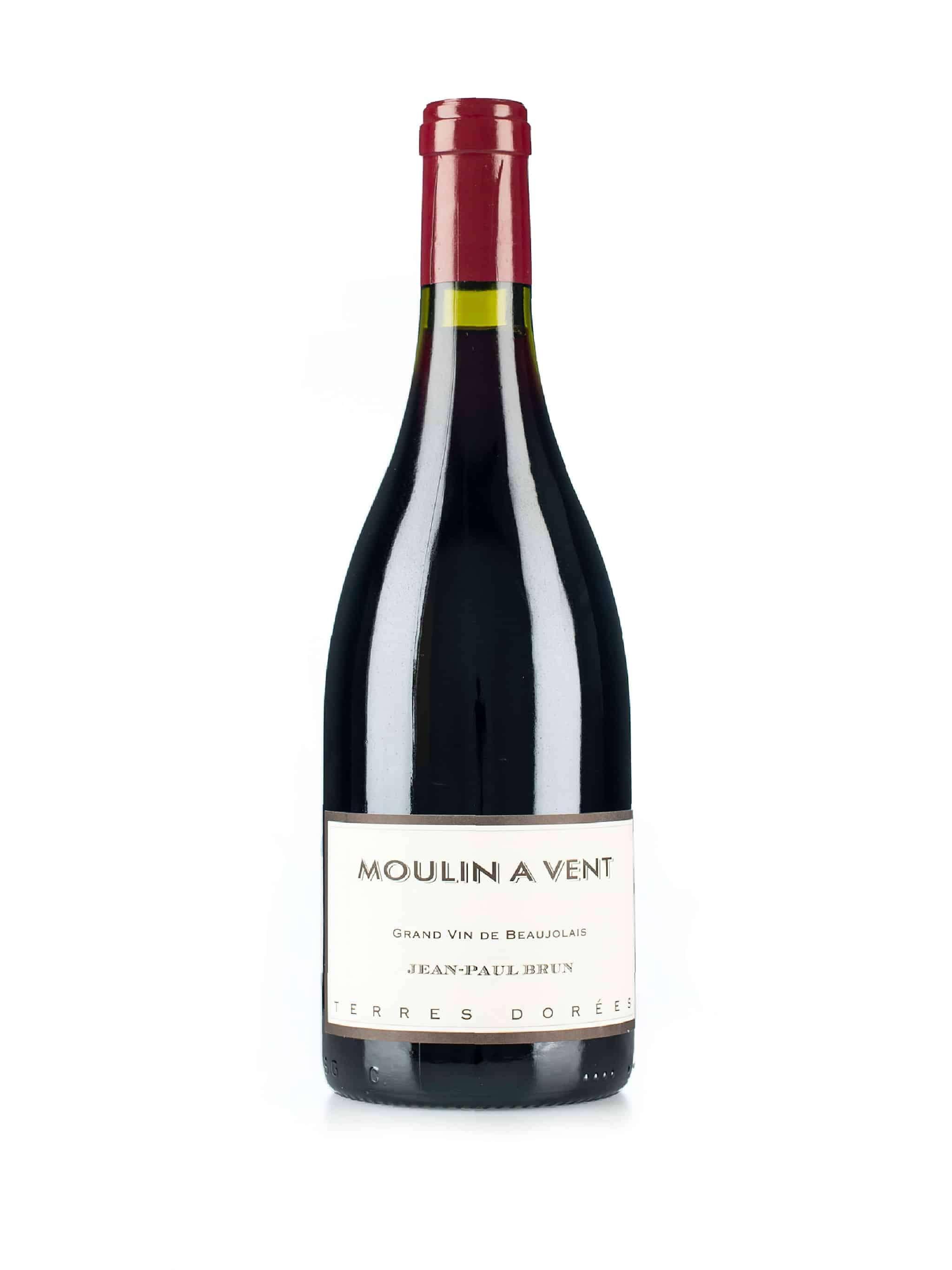 Franse rode wijn van wijndomein Domaine des Terres Dorées: Moulin à Vent
