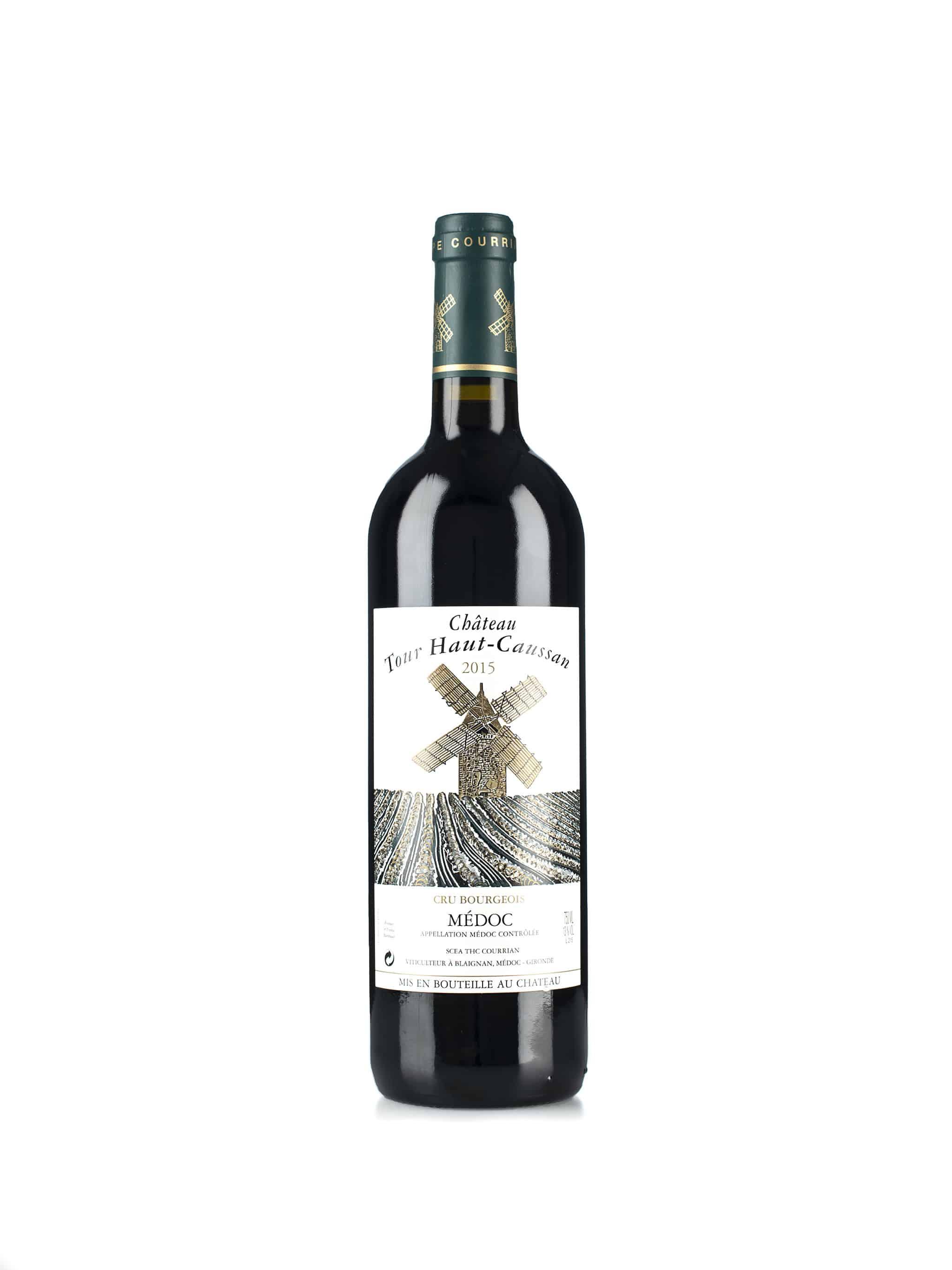 Franse rode wijn van wijndomein Bordeaux: Château Tour Haut-Caussan, Médoc