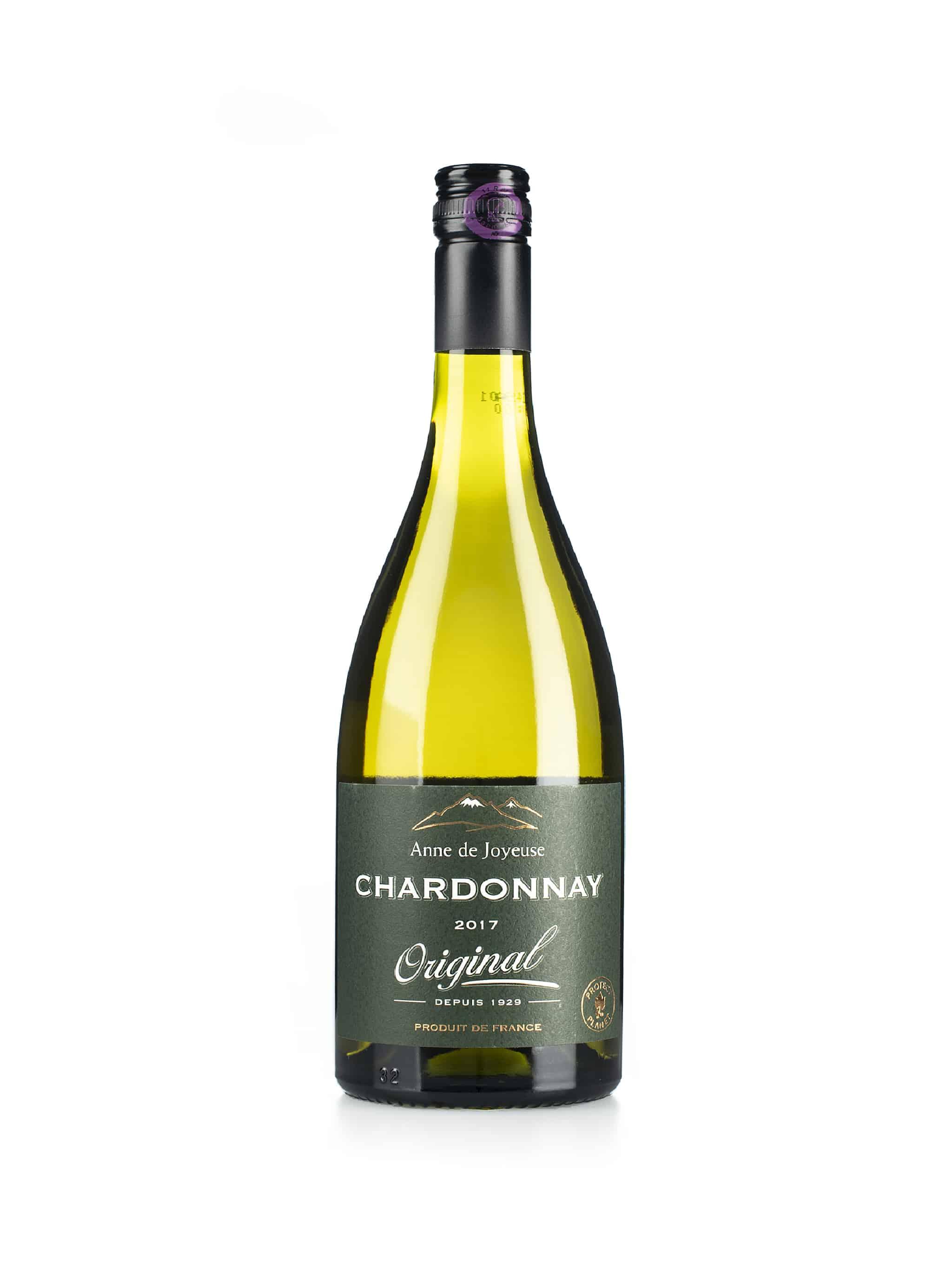 Franse witte wijn van wijndomein Anne de Joyeuse: Chardonnay 'Original'