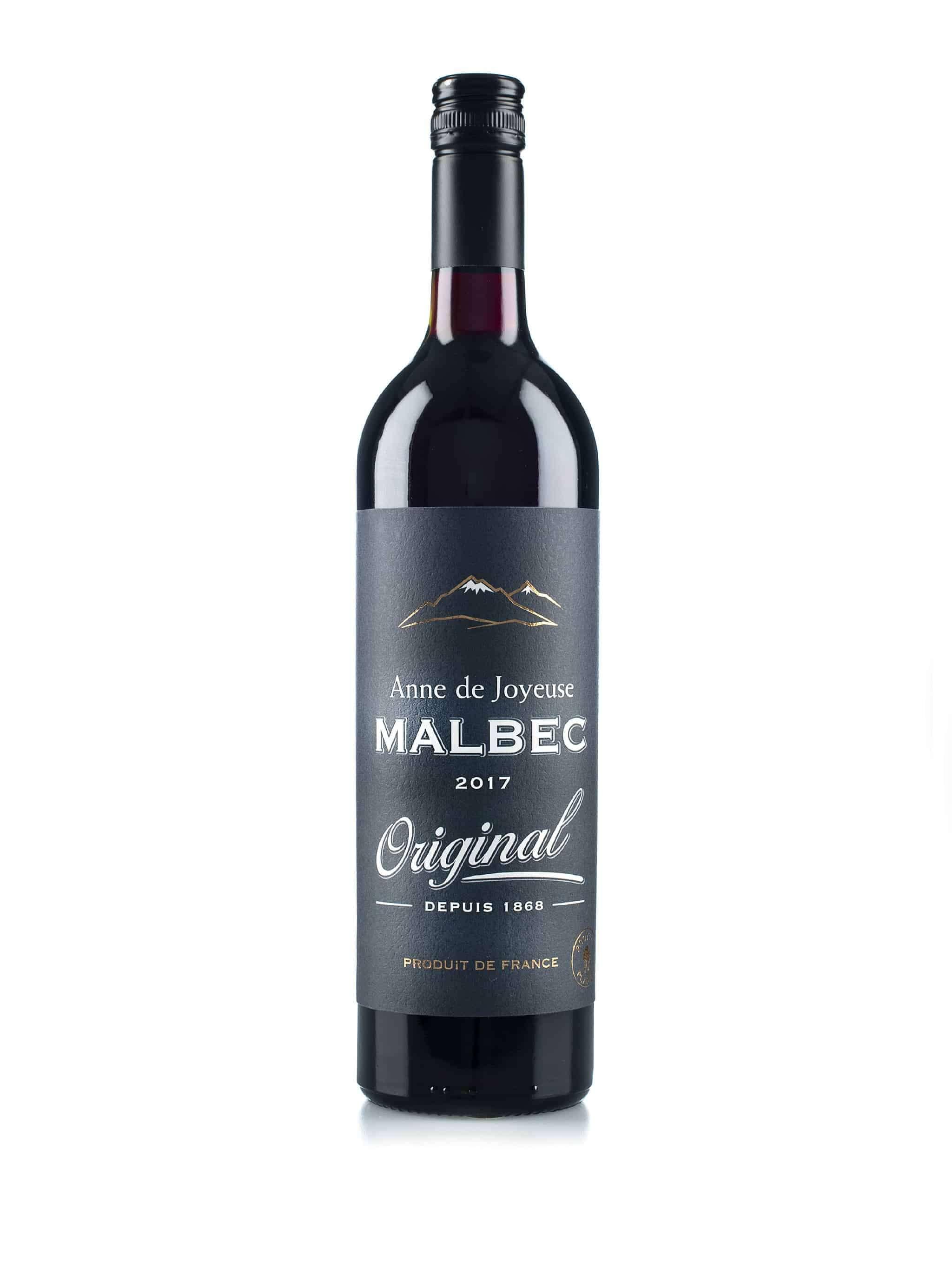 Franse rode wijn van wijndomein Anne de Joyeuse: Malbec 'Original'