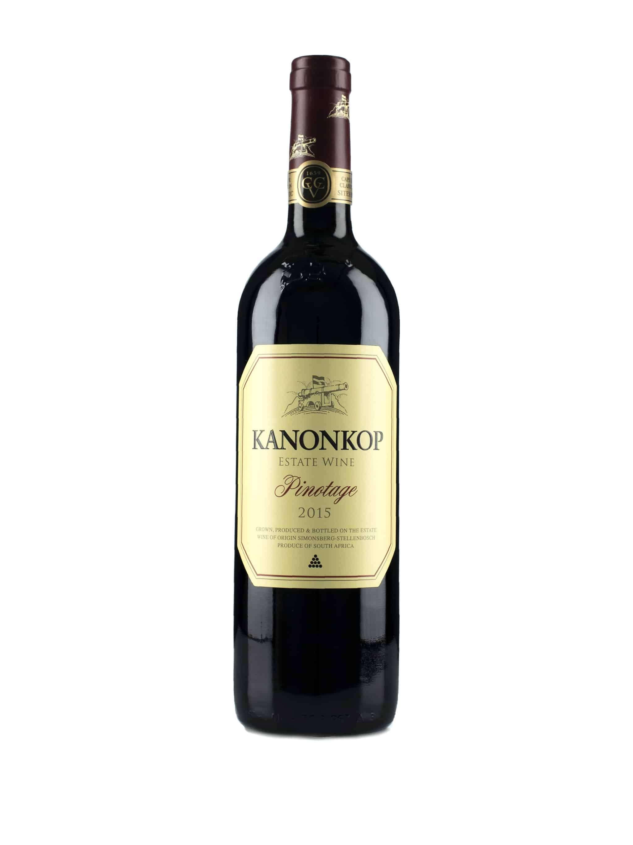 Zuid-Afrikaanse rode wijn van wijndomein Kanonkop: Pinotage