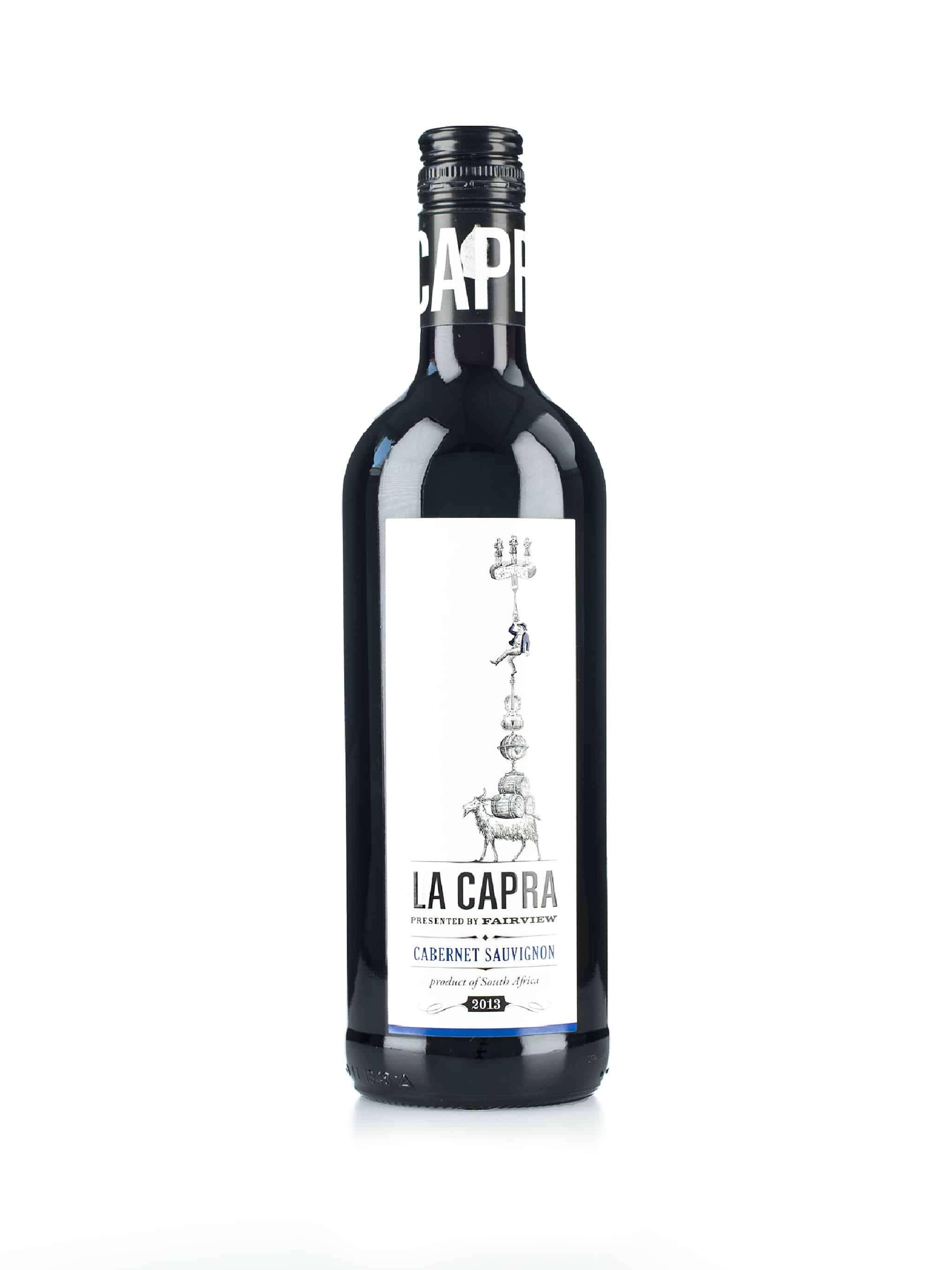 Zuid-Afrikaanse rode wijn van wijndomein Fairview: Cabernet Sauvignon