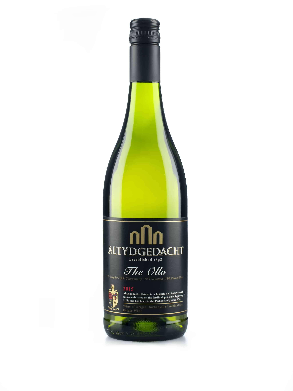 Zuid-Afrikaanse witte wijn van wijndomein Altydgedacht: The Otto