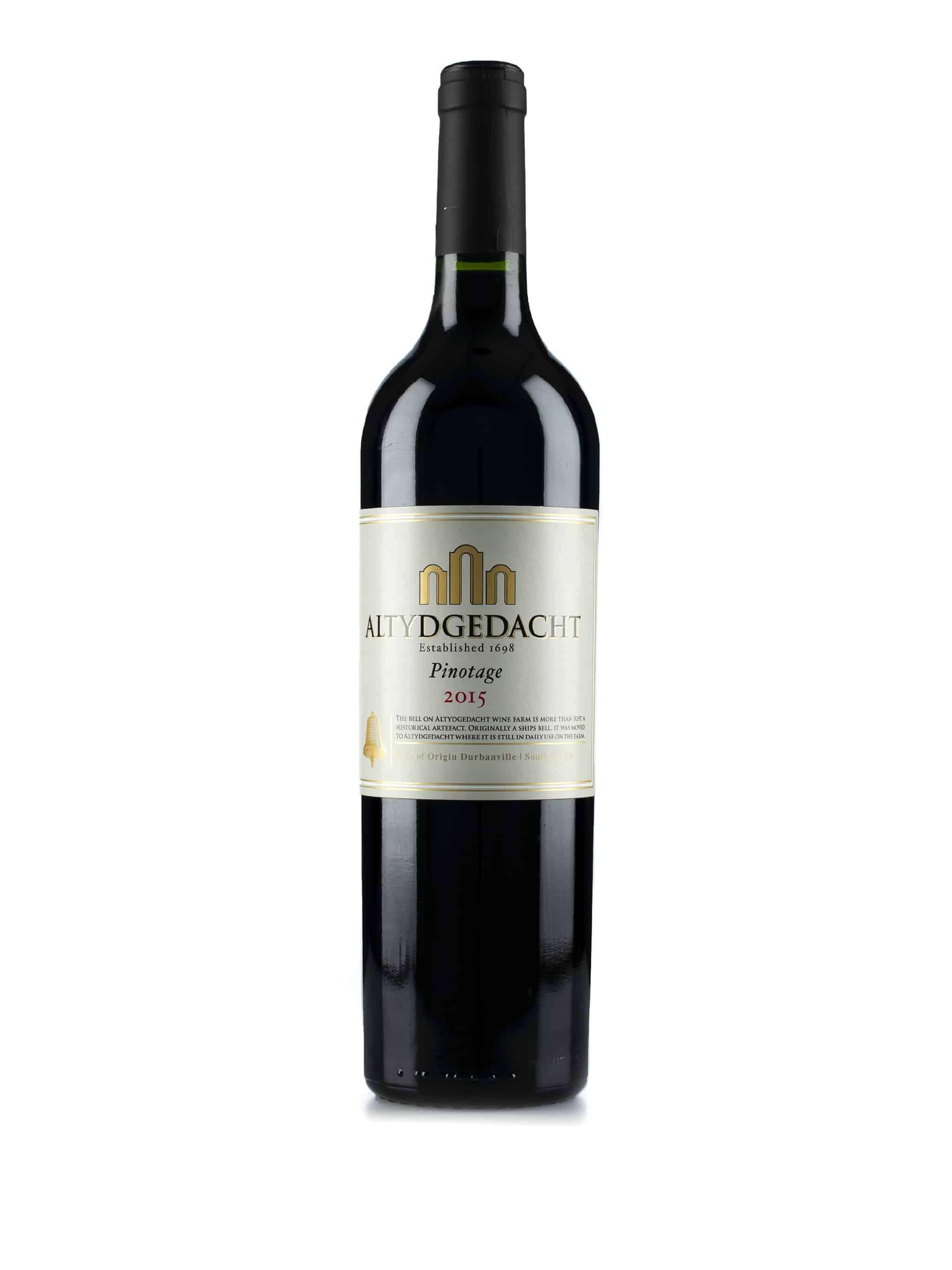 Zuid-Afrikaanse rode wijn van wijndomein Altydgedacht: Pinotage