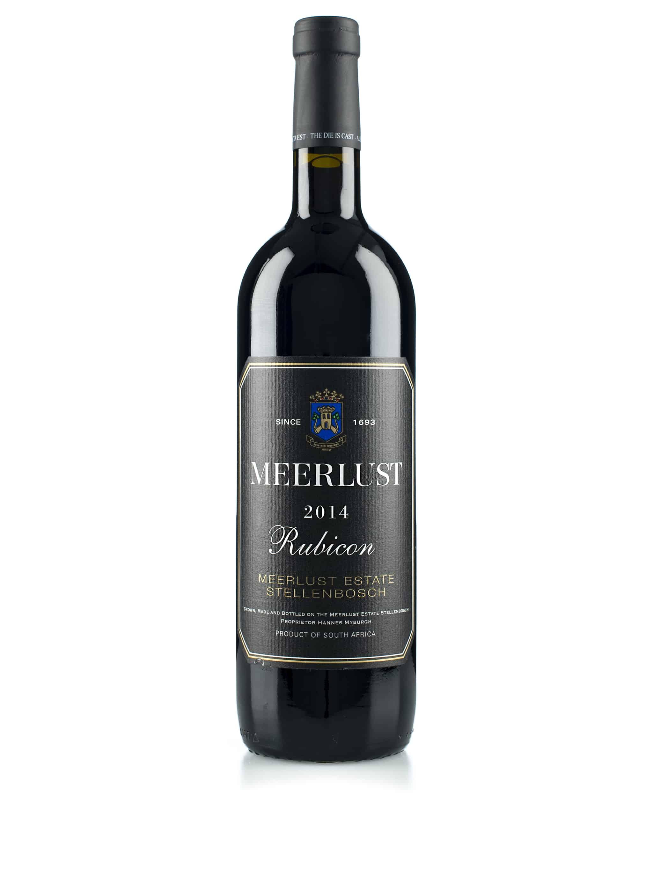 Zuid-Afrikaanse rode wijn van wijndomein Meerlust: Rubicon